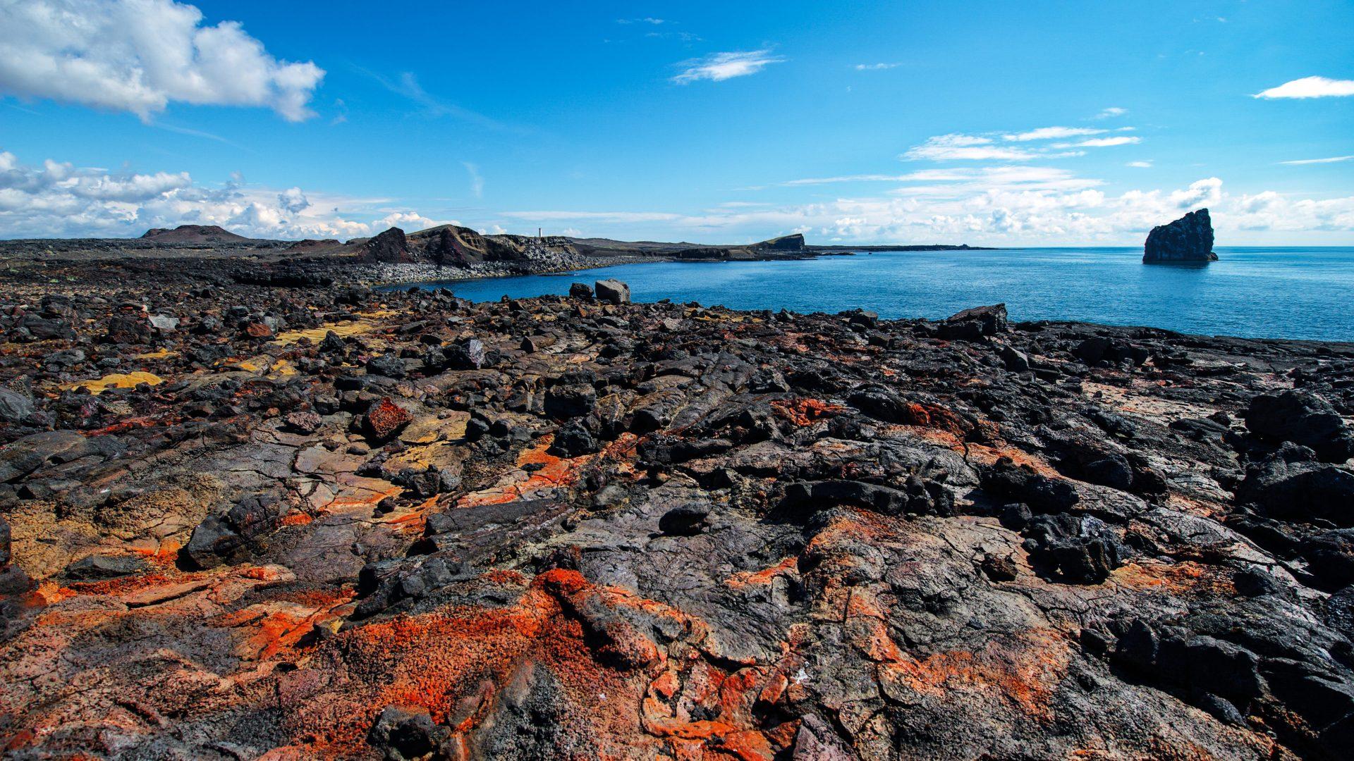 Wild and wonderful Icelandic landscapes.