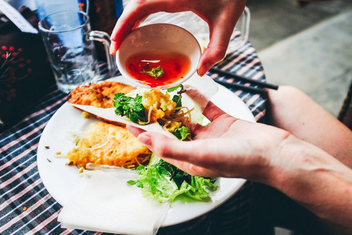 Banh xeo: Vietnamese pancakes
