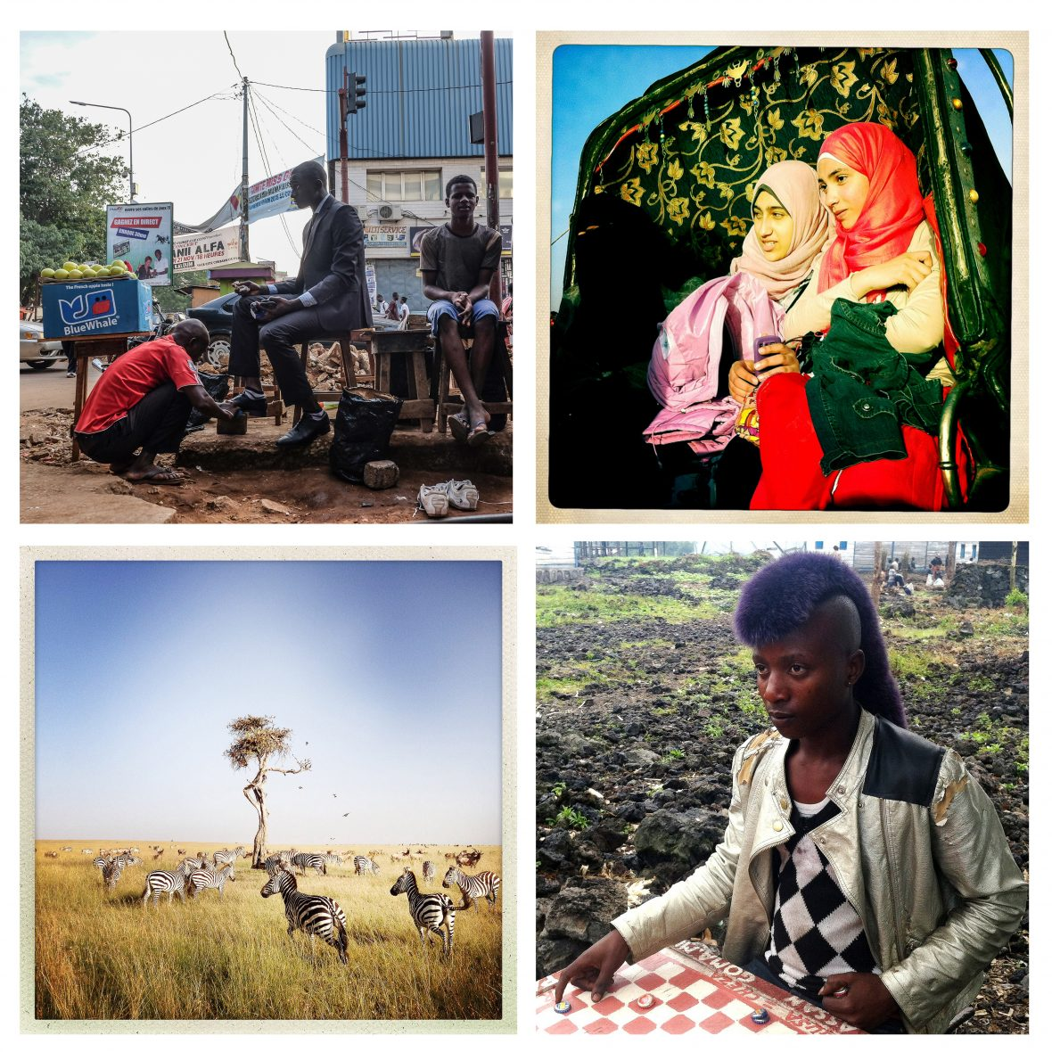 Instagram images from some of the Everyday Africa contributors