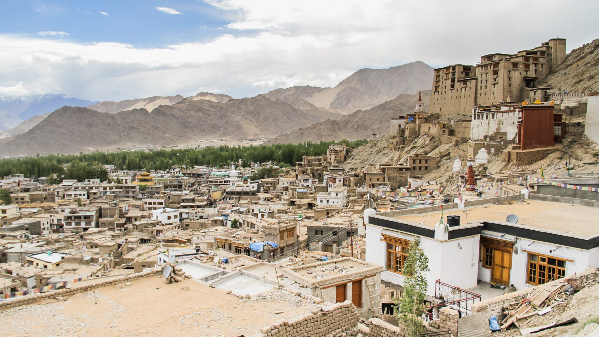 Hidden of Leh in the remote Himalayan region of Ladakh.