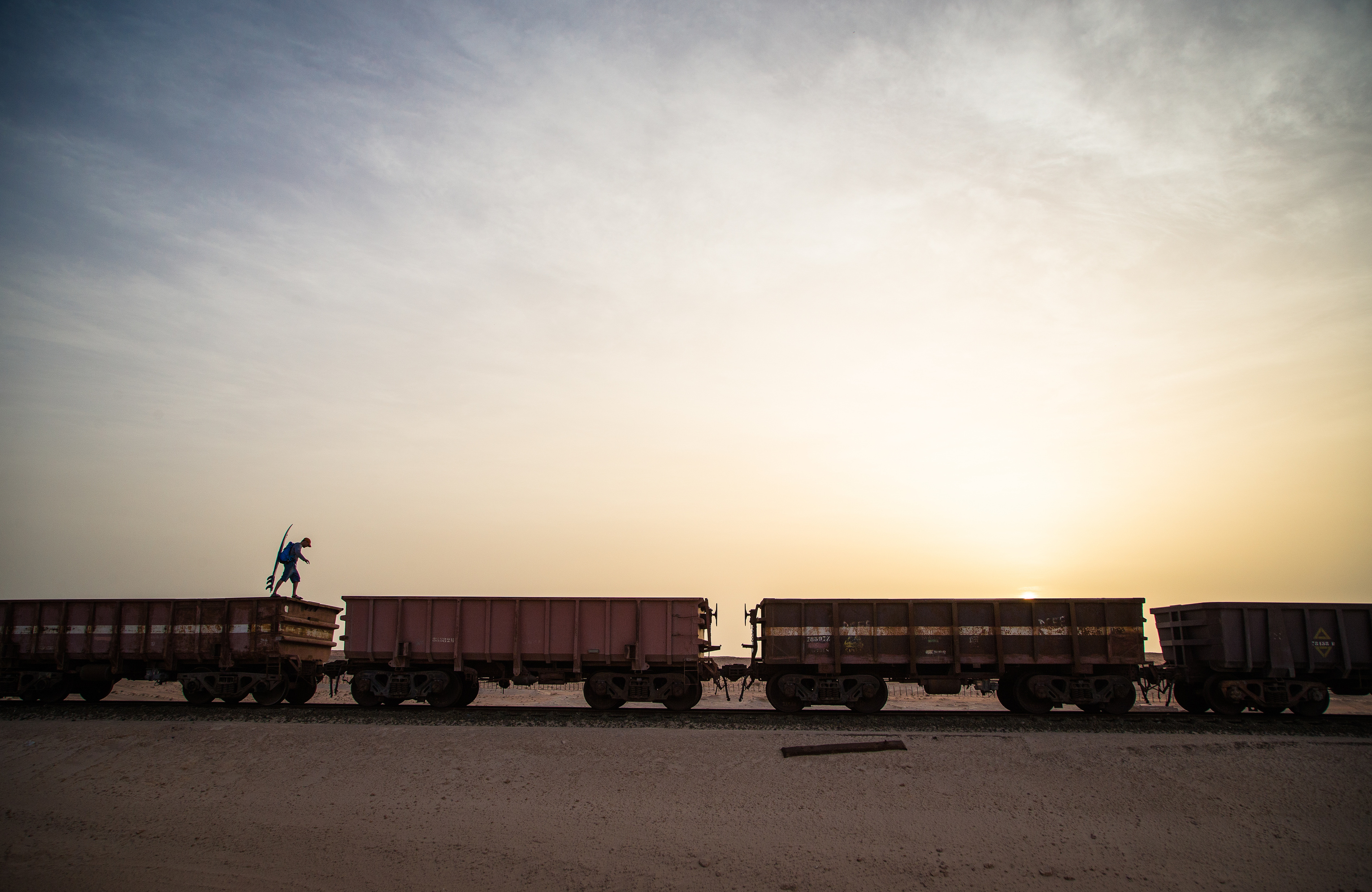 this photographer hopped freight trains through the sahara. Black Bedroom Furniture Sets. Home Design Ideas