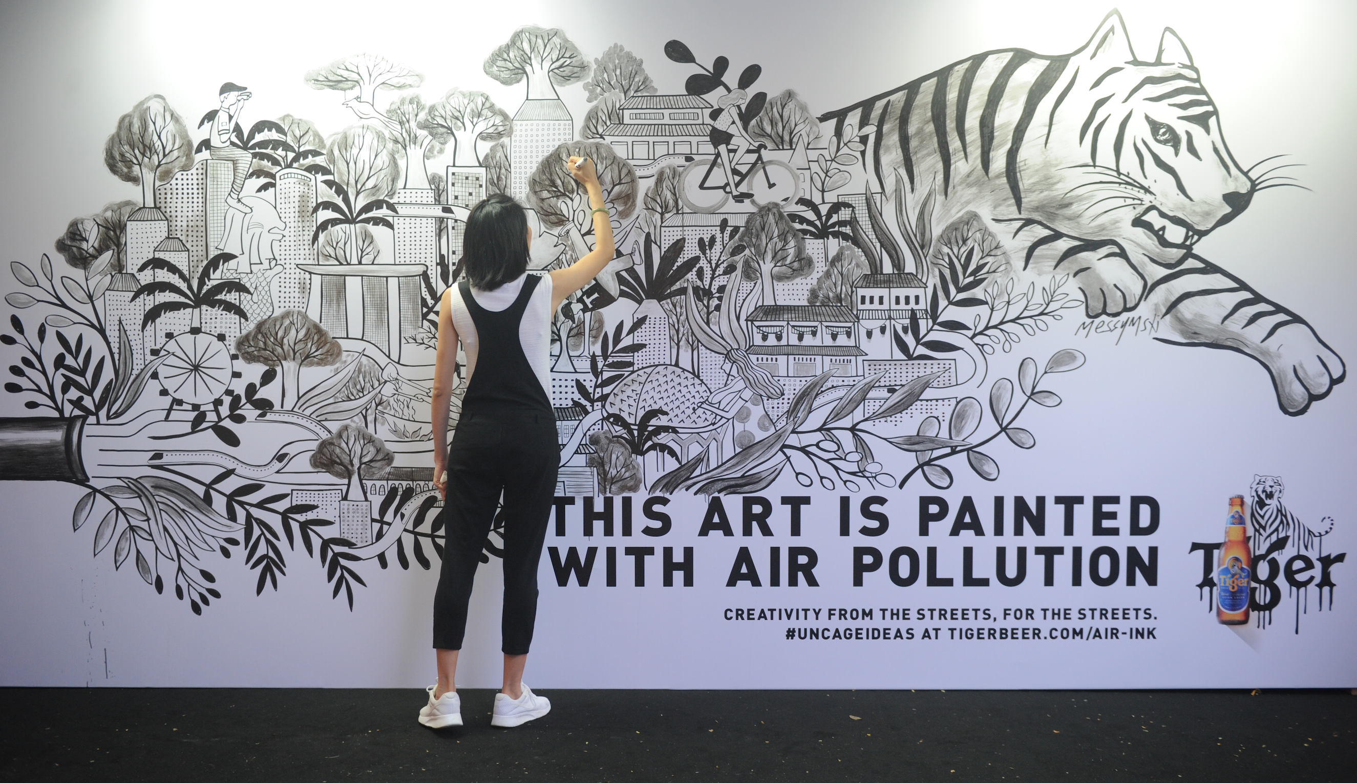 How A Pop Up Project Is Turning Air Pollution Into Street