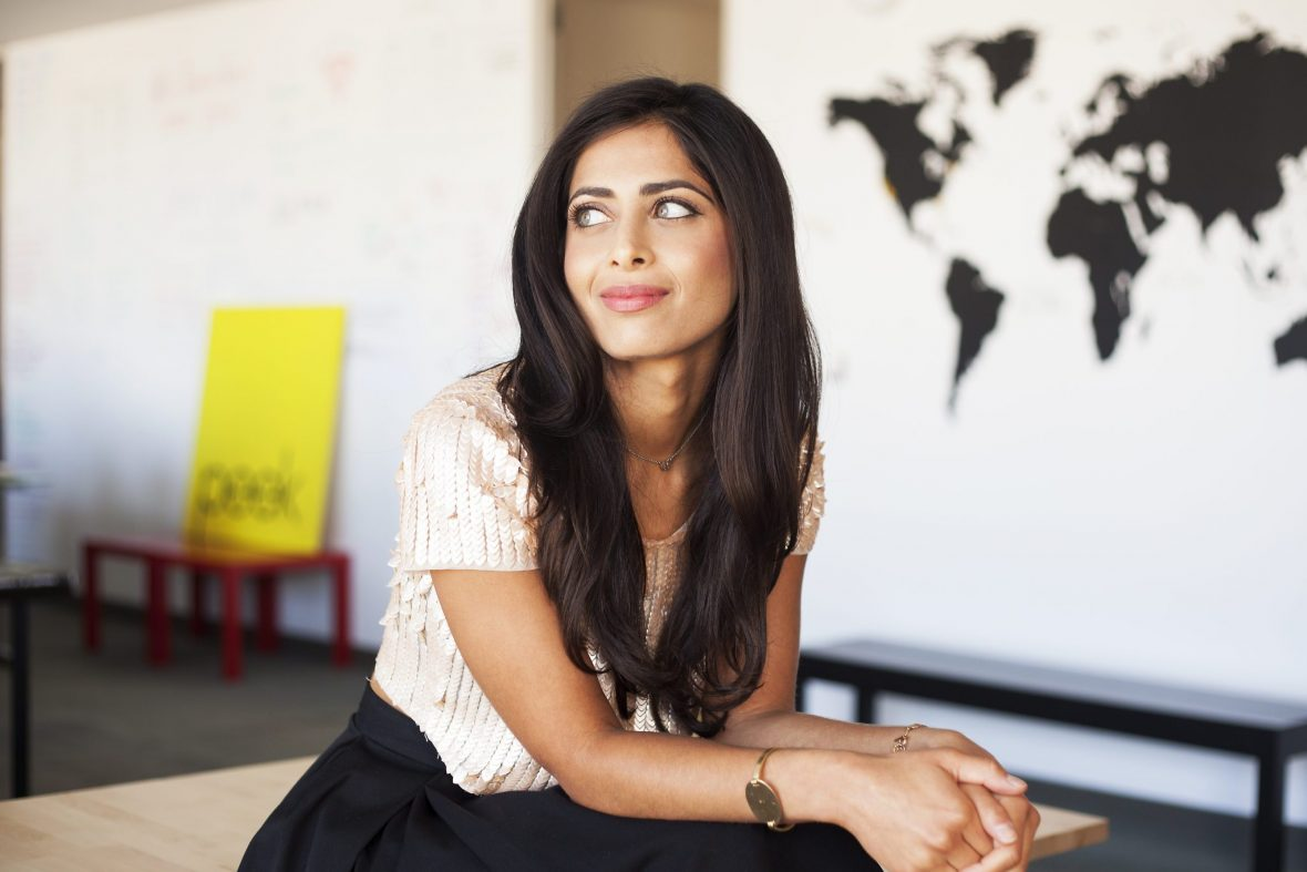Women in travel: Ruzwana Bashir Peekcom founder. Credit Michelle Drewes
