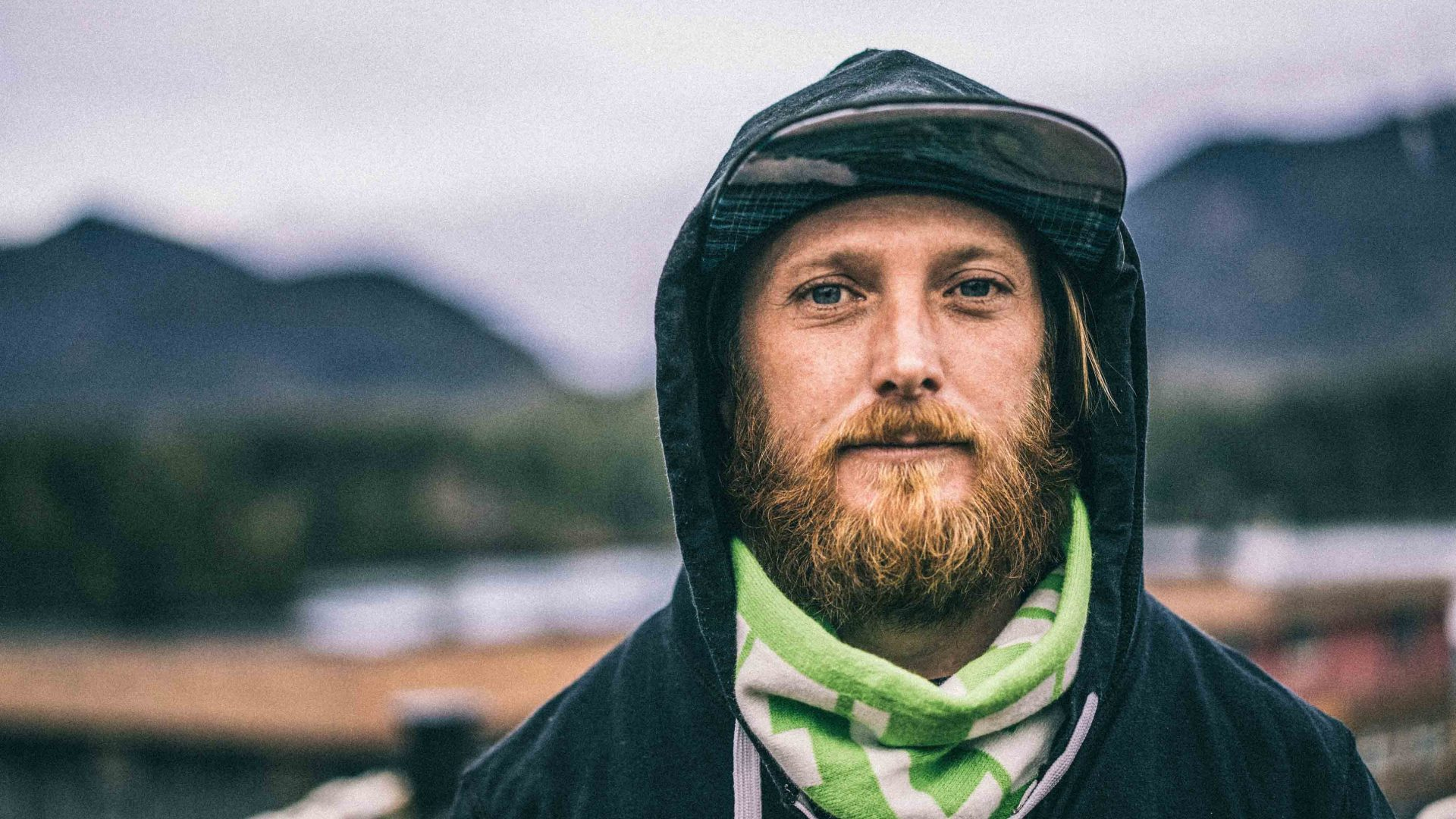 Andy Herridge may have moved to Ucluelet for the surf, but he stays for the community.