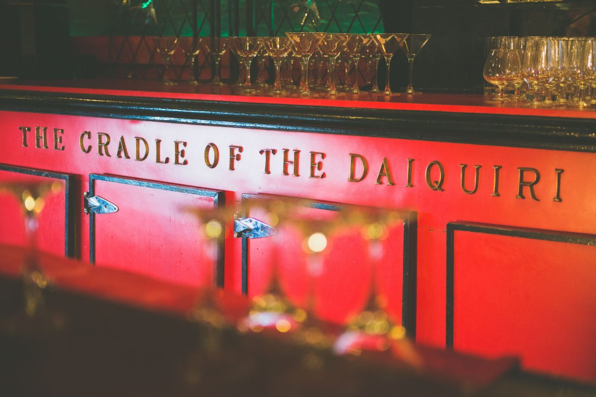 The Cradle of the Daiquiri in Havana was one of Ernest Hemingway's haunts, though these days is frequented by throngs of tourists.