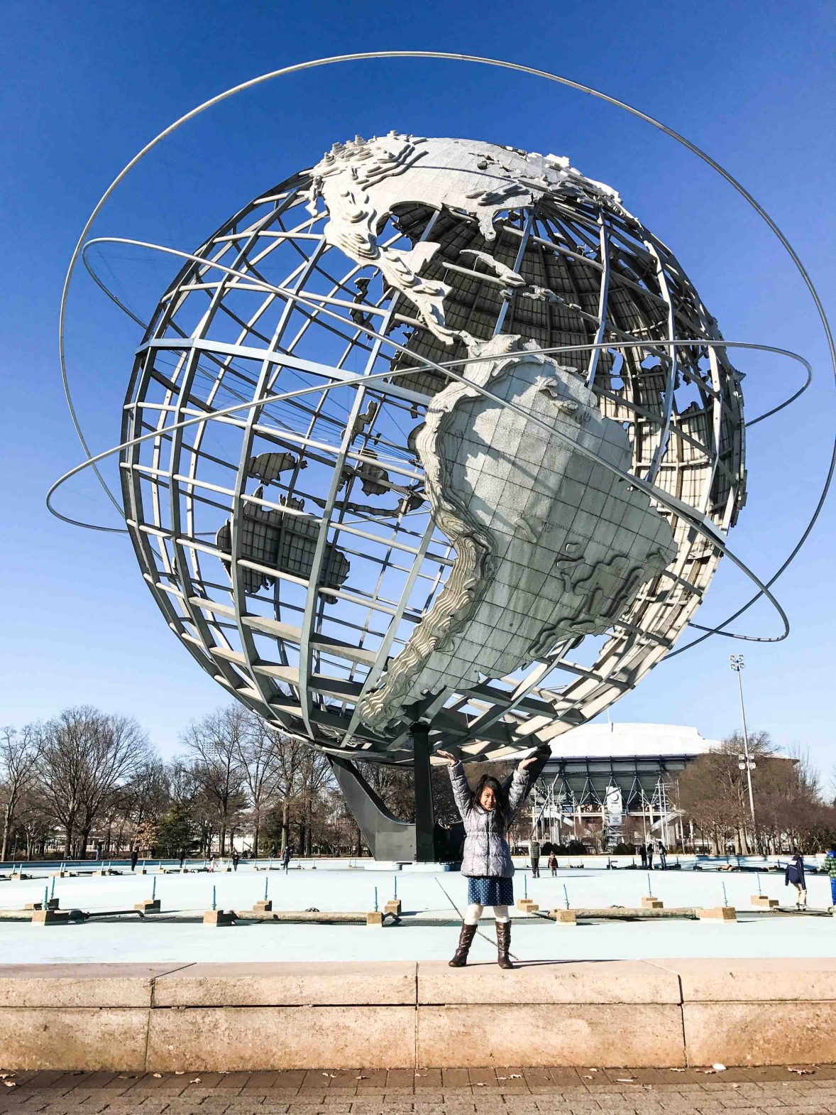 The World Fair Globe in Queens.