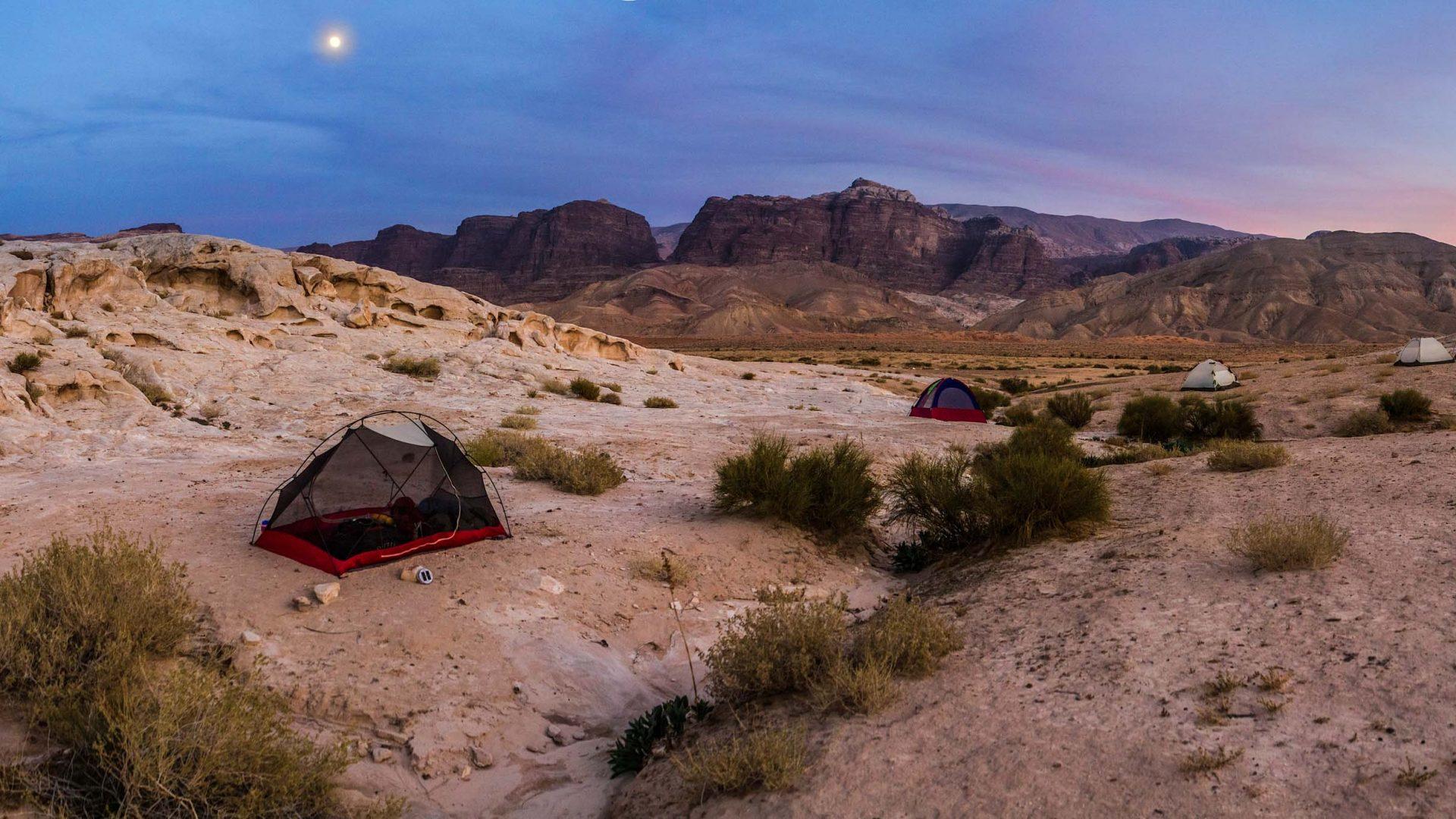 Scenery on the Jordan Trail between Petra to Gaa Mriebed.