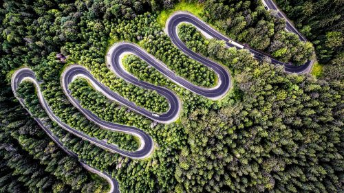 The winding road to Transylvania, by drone photographer Calin Stan / @TheDrone.ro