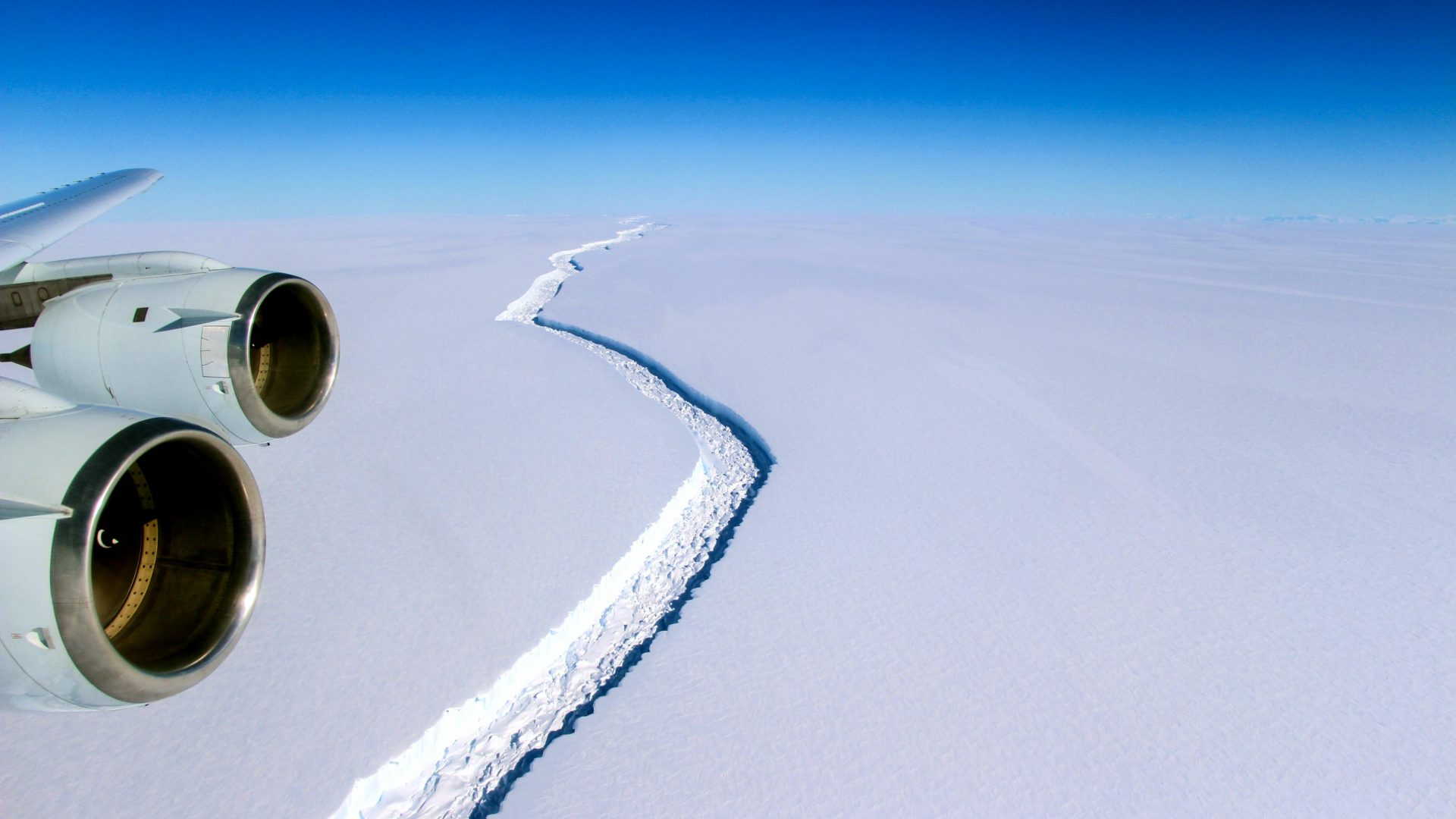 One of the largest icebergs ever recorded breaks off Antarctica