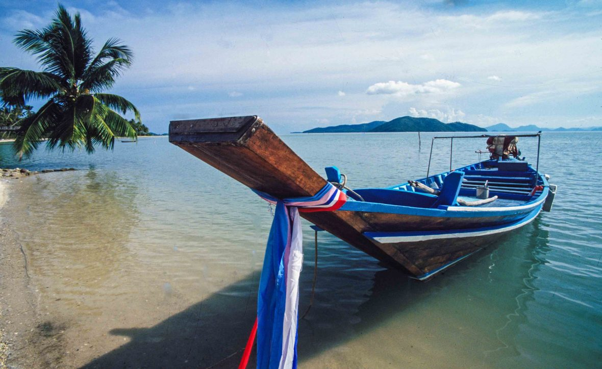 Traditional Thai boat.