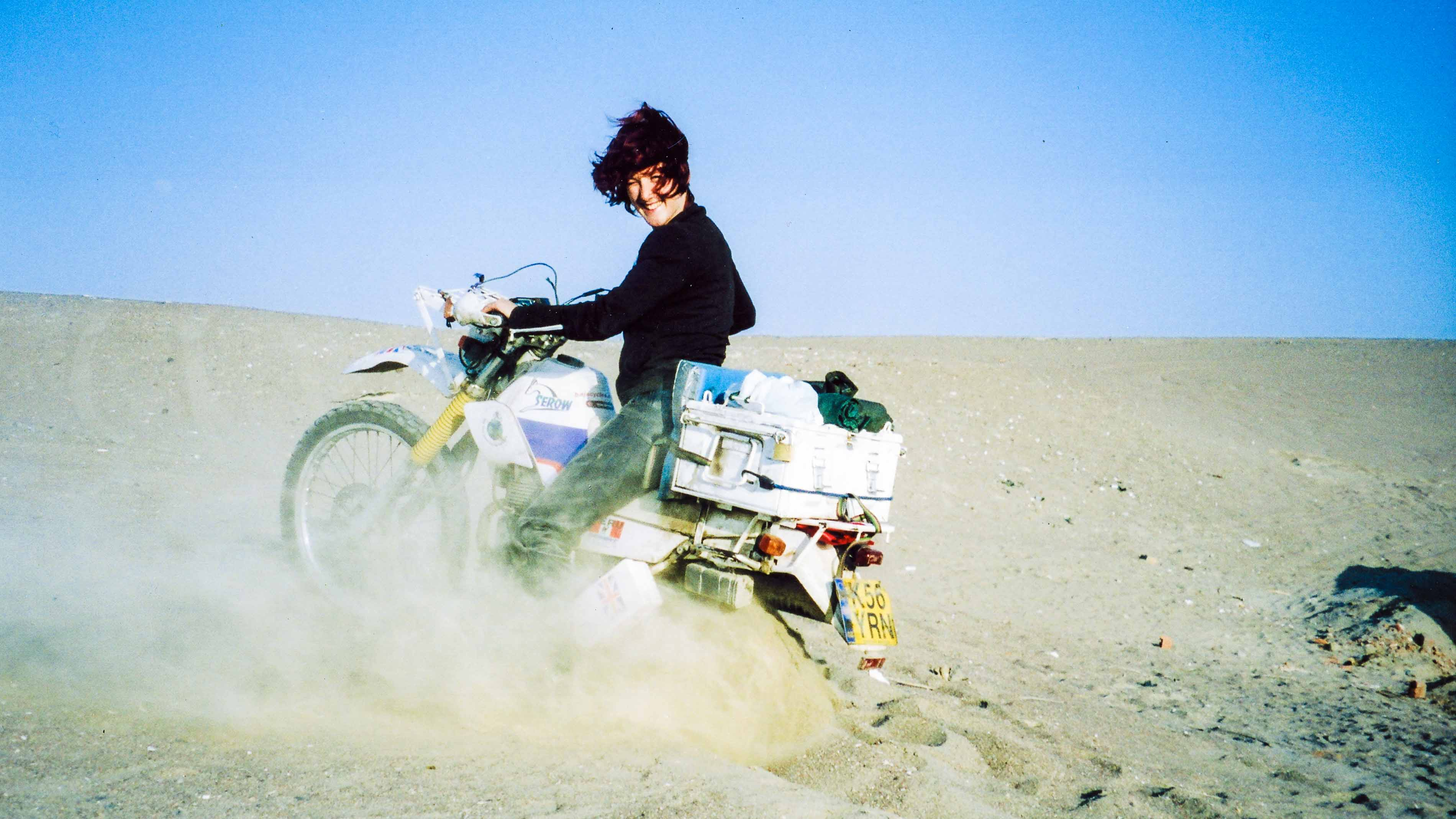 Riding solo: One woman's motorcycling adventures in Iran ...