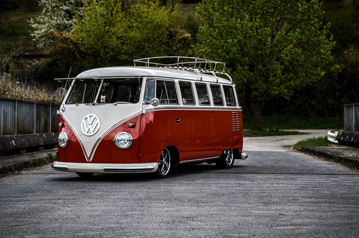 The Legendary Volkswagen Kombi Gets Futuristic High Tech All