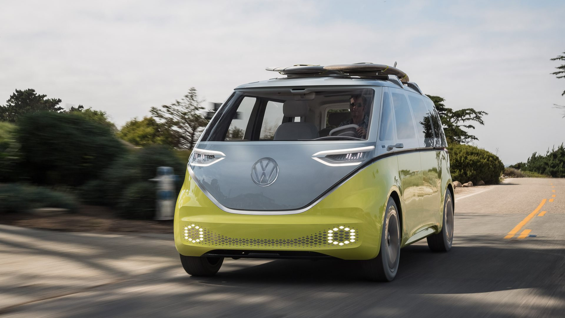 The legendary Volkswagen Kombi gets futuristic, all-electric upgrade