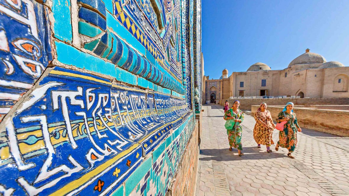 On the road with Uzbekistan's modern-day pilgrims