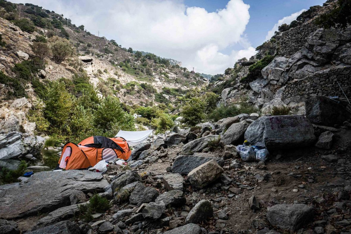 There is no crisis in paradise: Tracing Greece's youth 'hippie trail'