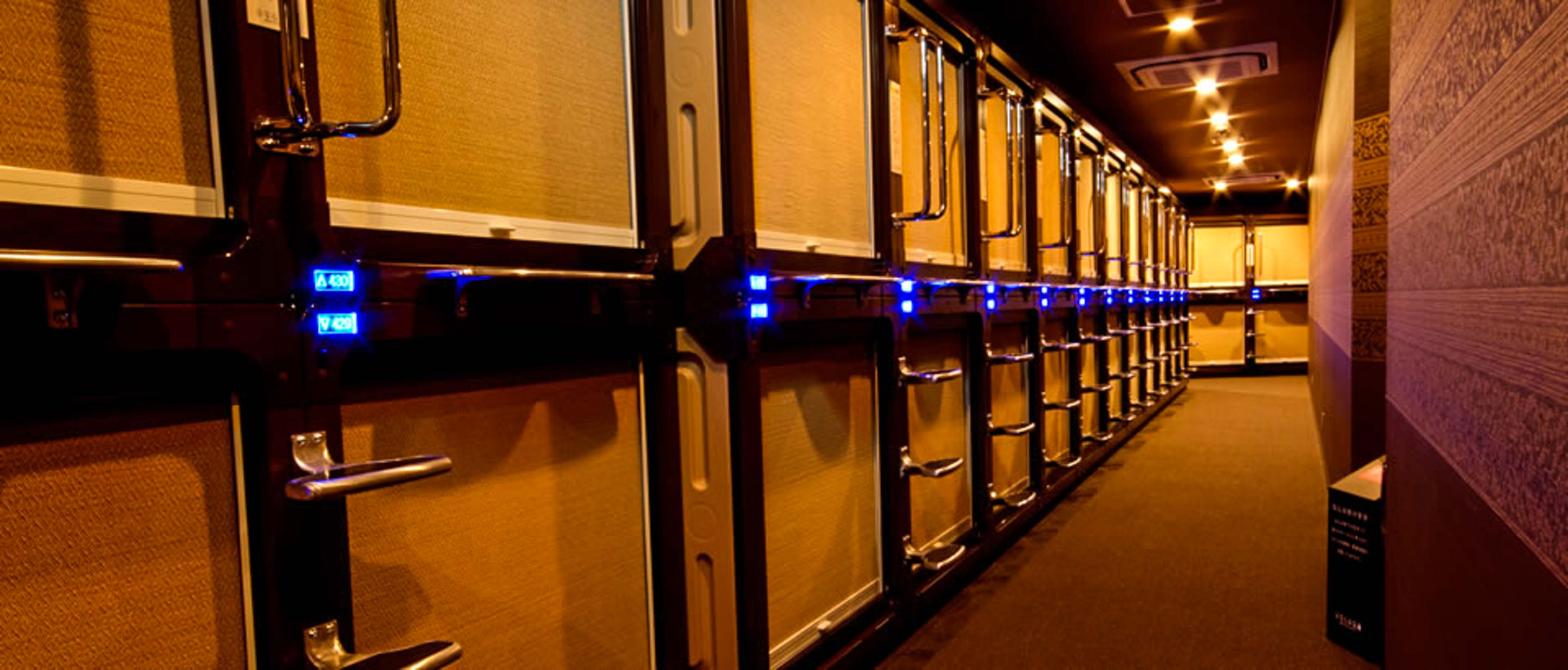 Inside Tokyo S Capsule Hotels Rooms At Anshin Oyado In