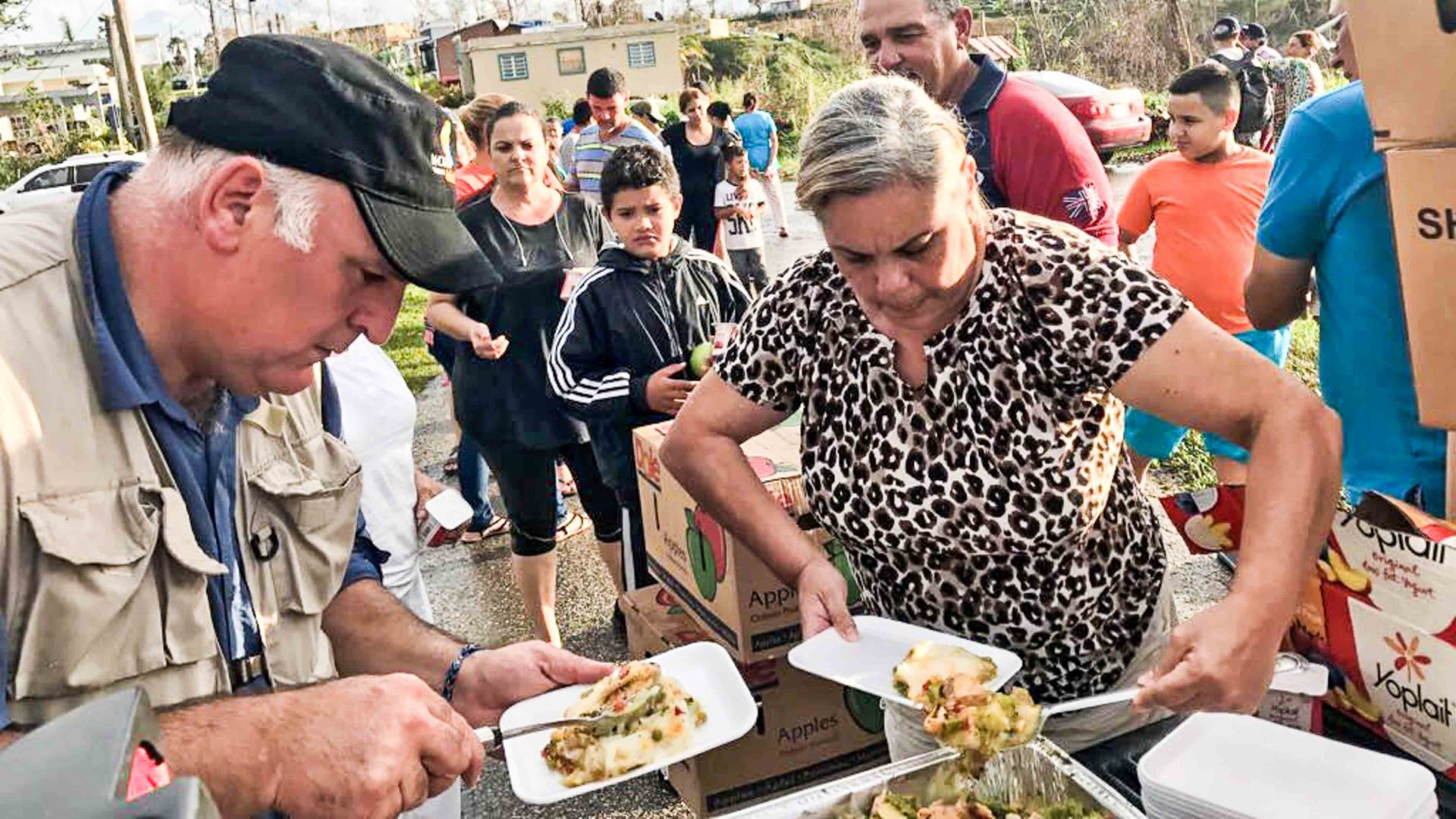 Chef José Andrés serves over one million meals in Puerto Rico