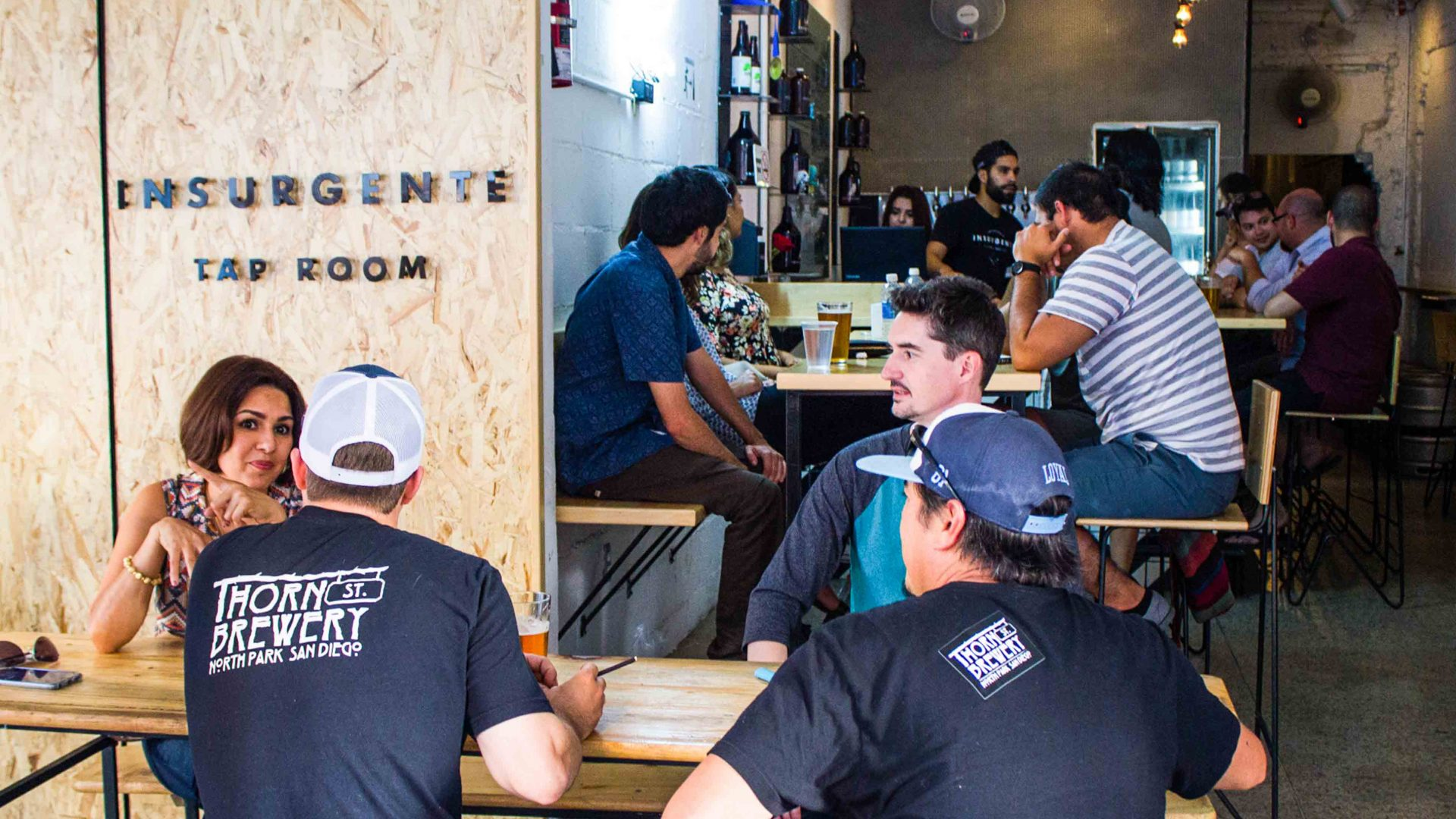 Influenced by San Diego's craft brewery scene, Insurgentes is part of the new craft brewery scene in Tijuana.
