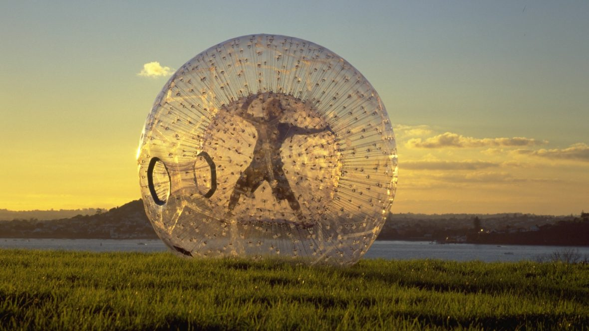 Zorbing is one of New Zealand's latest adventure crazes.