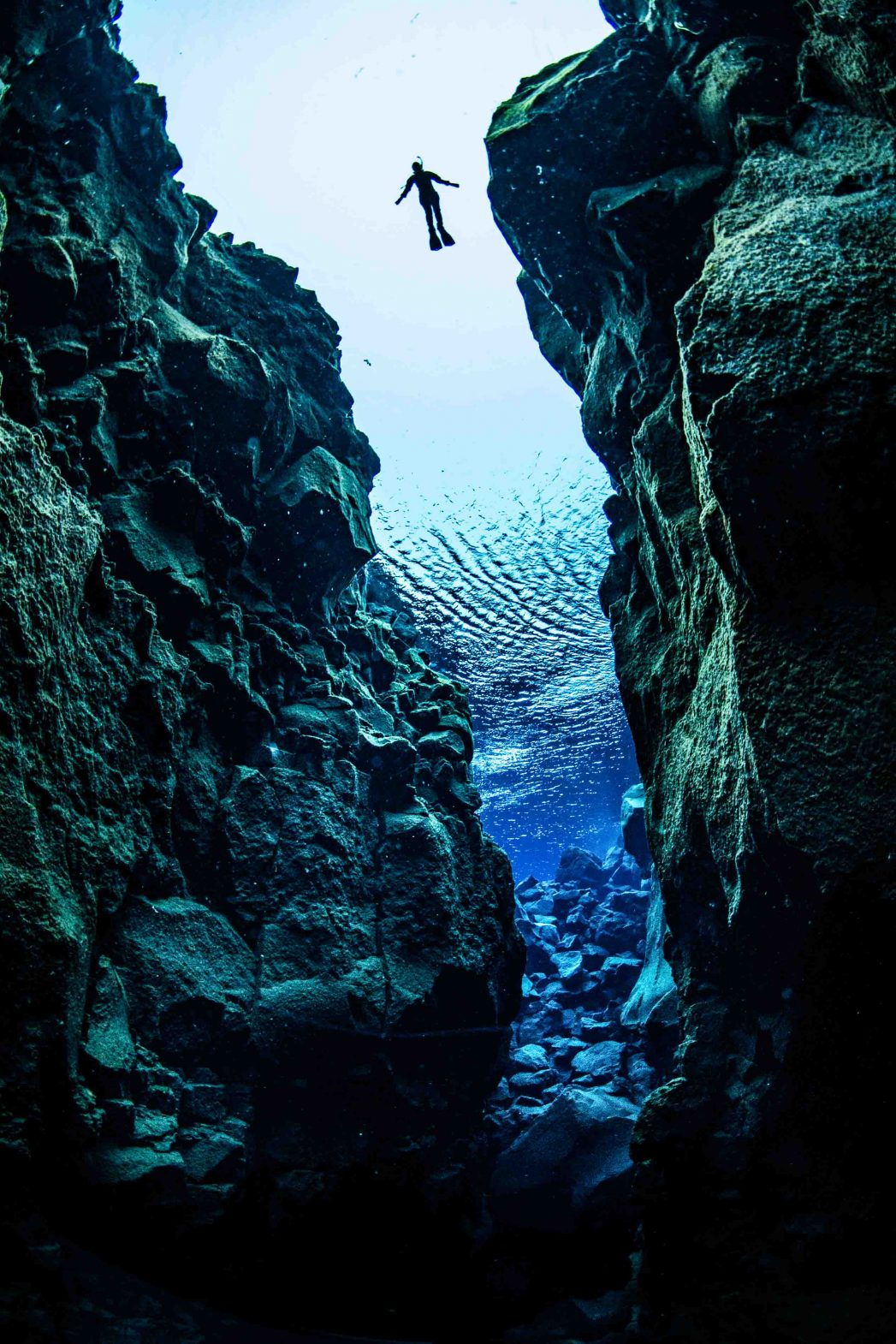 Into the deep: Snorkeling in Iceland's Silfra fissure between two continents, is an extraordinary experience