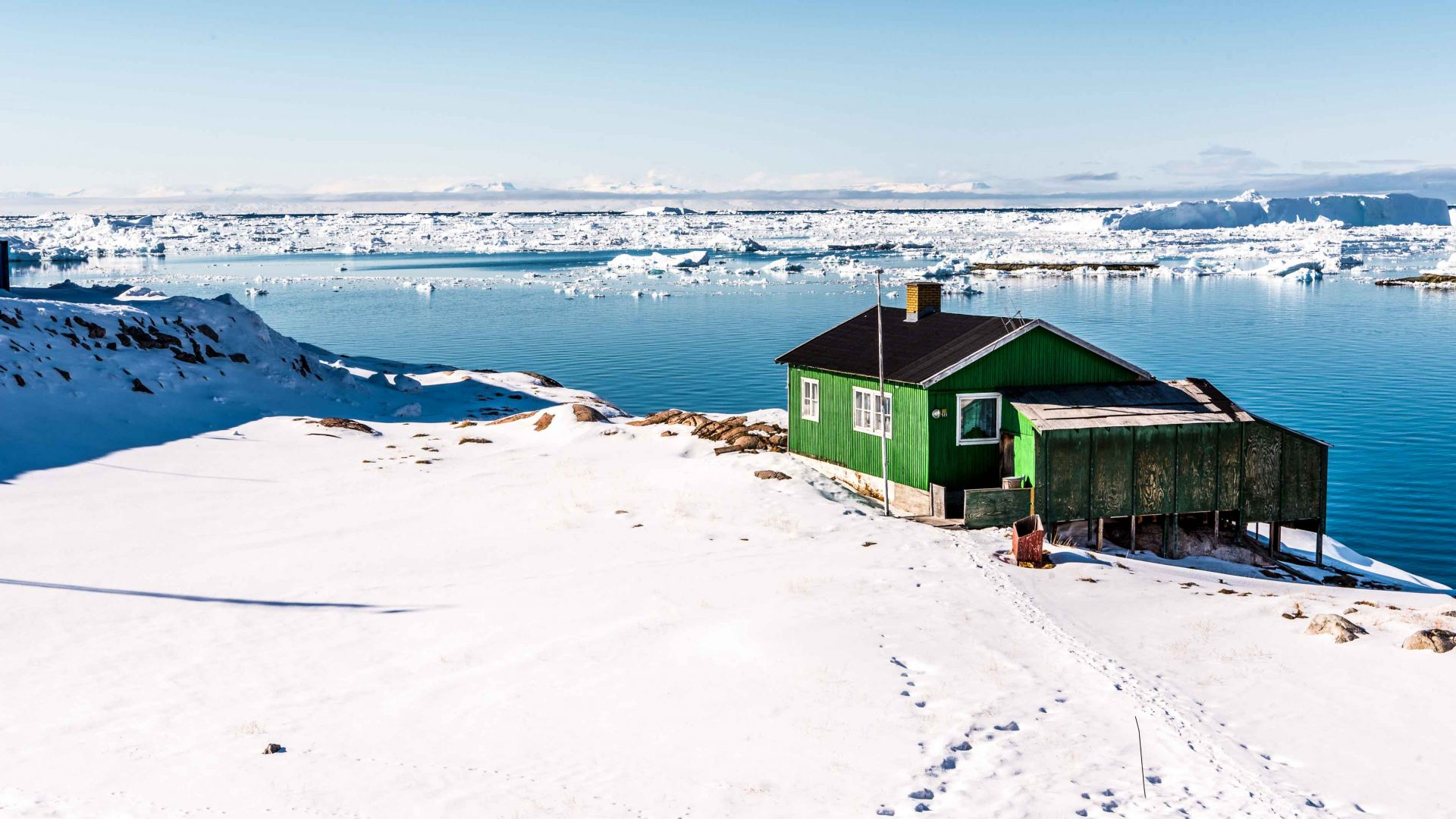 Inside Ilulissat, Greenland, the iceberg capital of the world