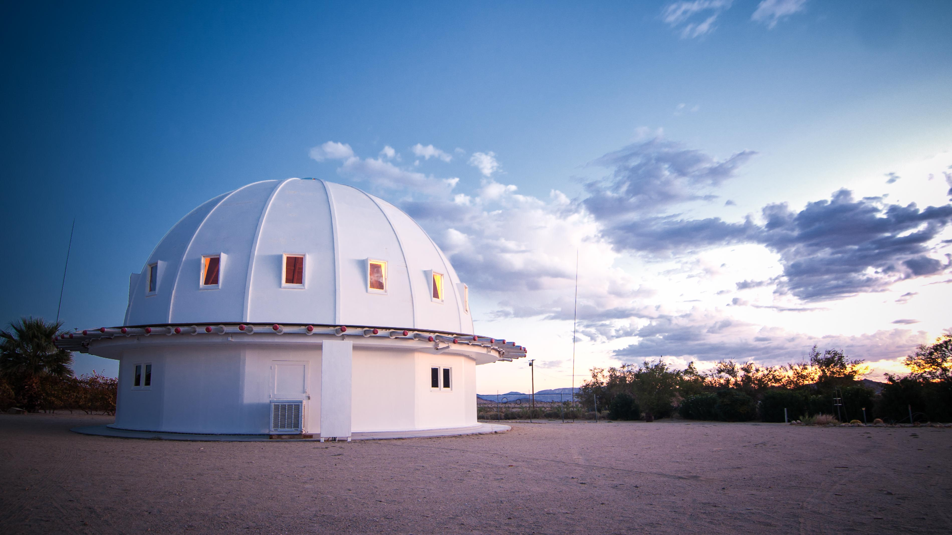 Inside Integratron: A crystal sound bath in a desert