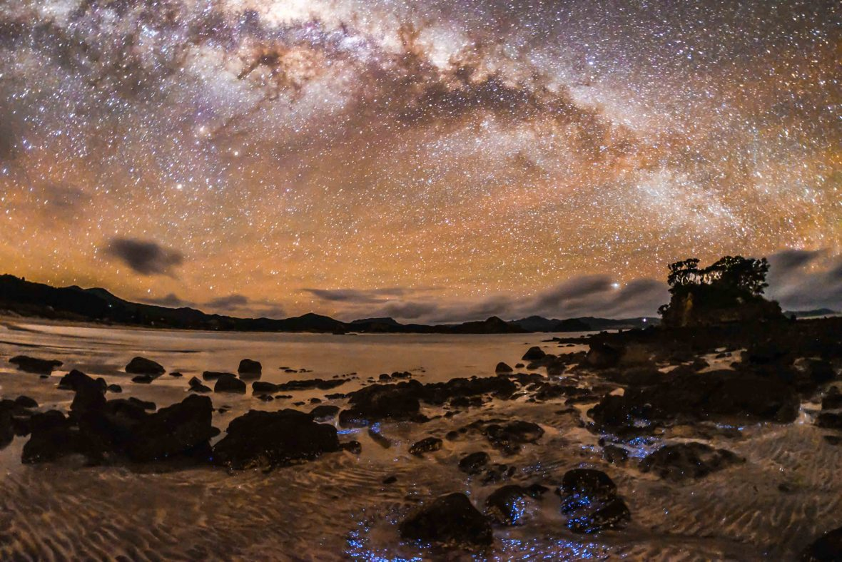 Great Barrier Island is the world's first Dark Sky Sanctuary island.