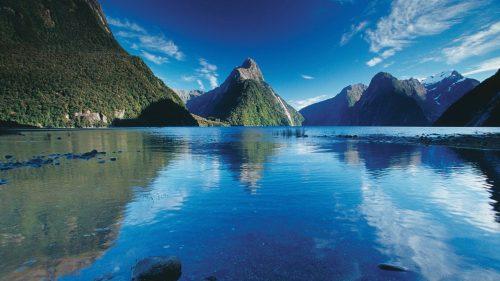 New Zealand's stunning Milford Sound.