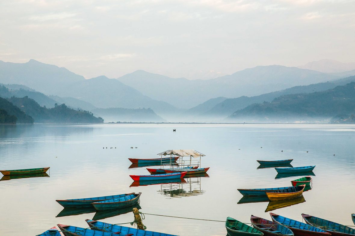 Adventures 2018: The gateway to the Himalayas, Nepal's second largest city Pokhara and its lake is one of the country's most scenic spots.