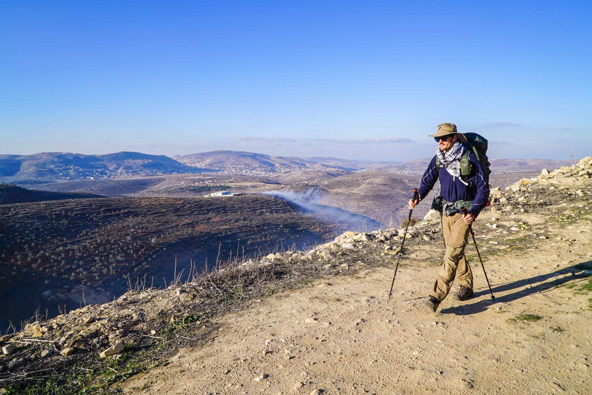 Adventures 2018: Adventure.com featured contributor Leon McCarron on the Walk the Masar trail in the West Bank, Palestine.
