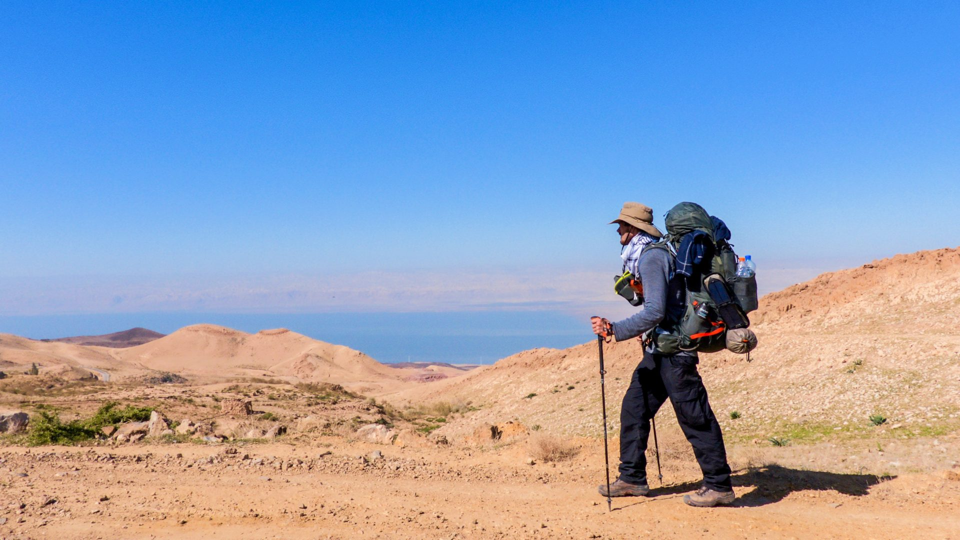 Is walking the most adventurous way to travel?