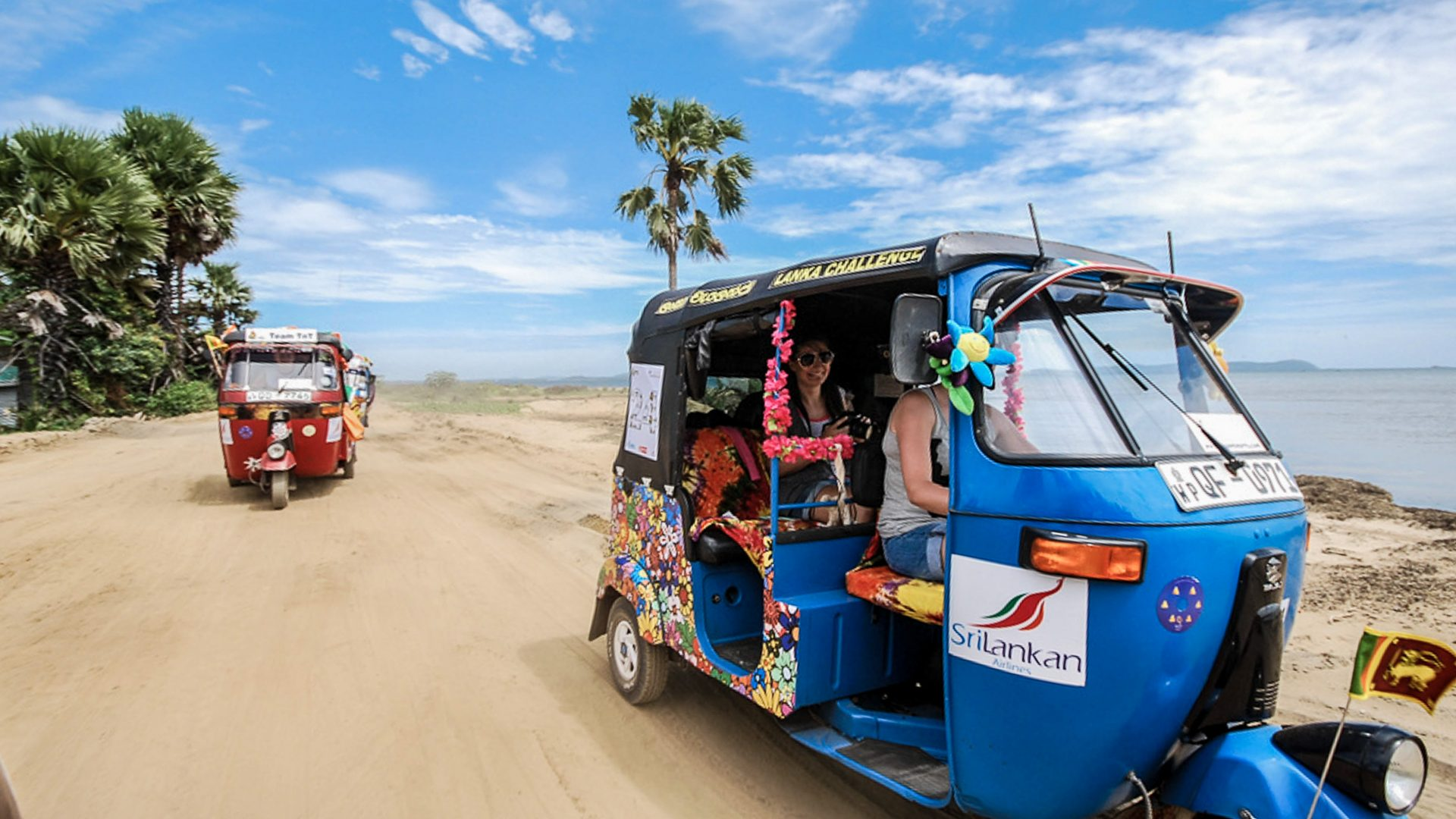 The most fun on three wheels? Try driving a tuk-tuk through Sri Lanka