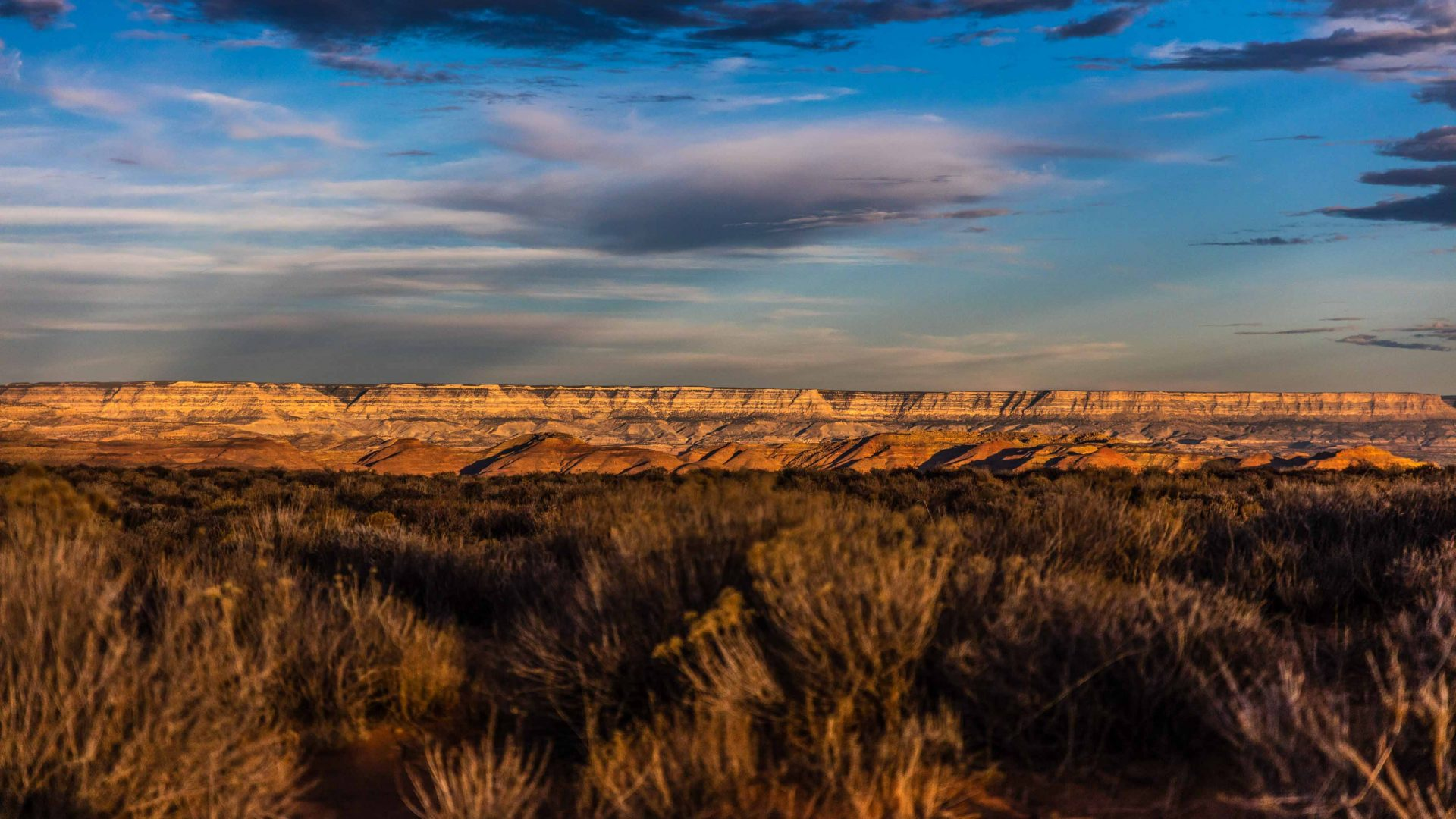 Grand Staircase National Monument in Utah.