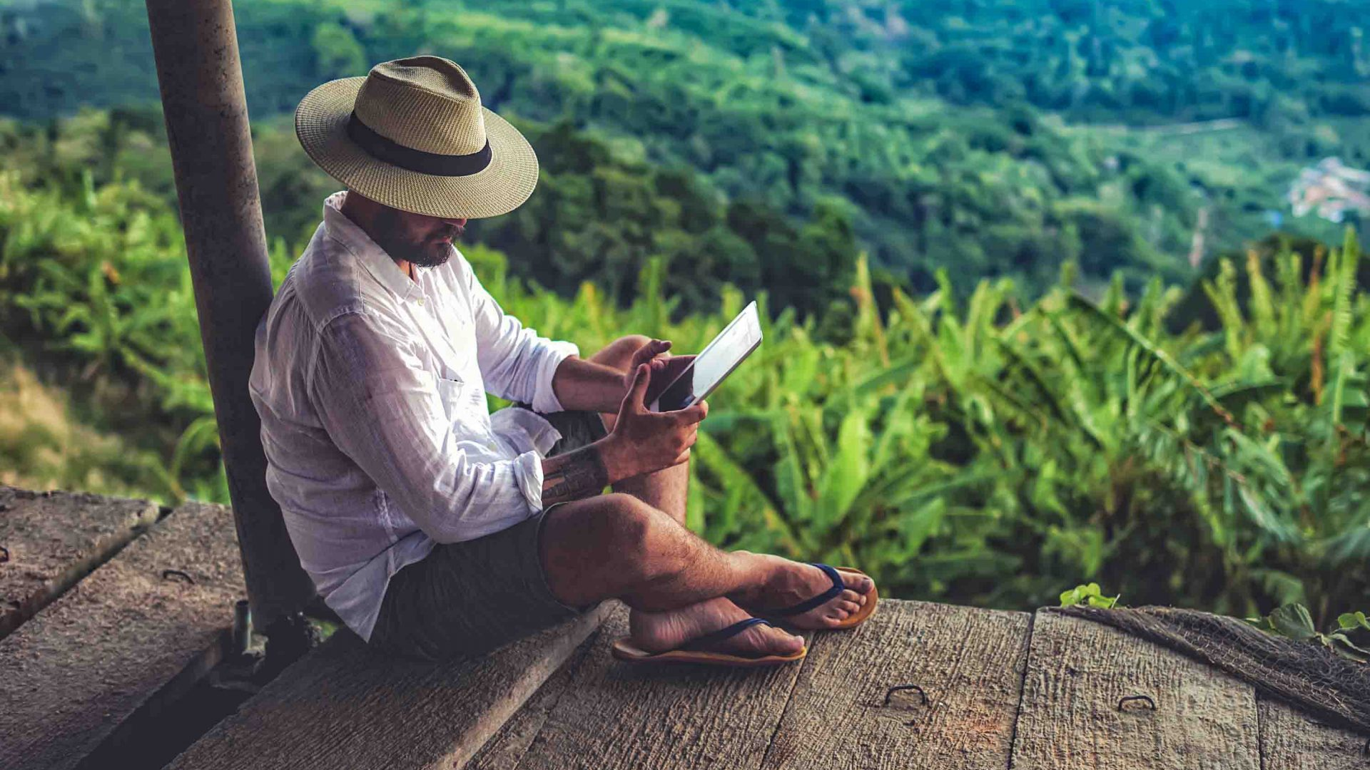 Getting away from it all: Is 'digital detox' travel a gimmick or a godsend?