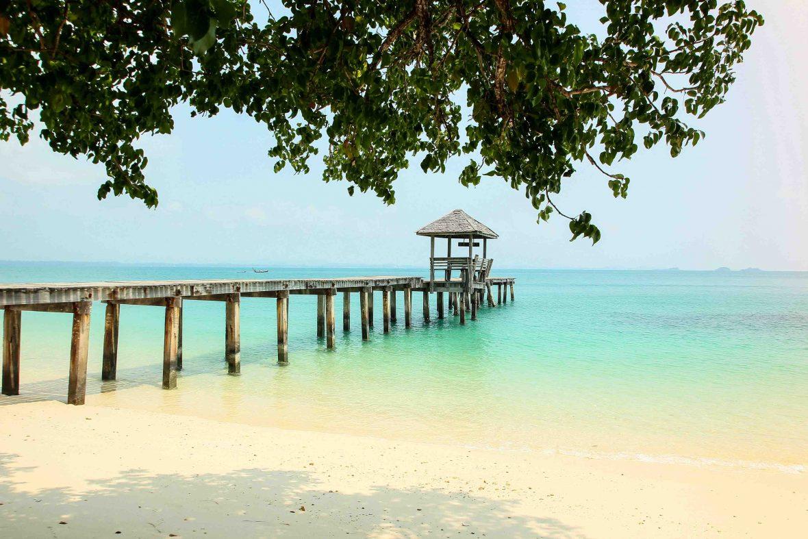 The idyllic waters of Koh Samet in Thailand.