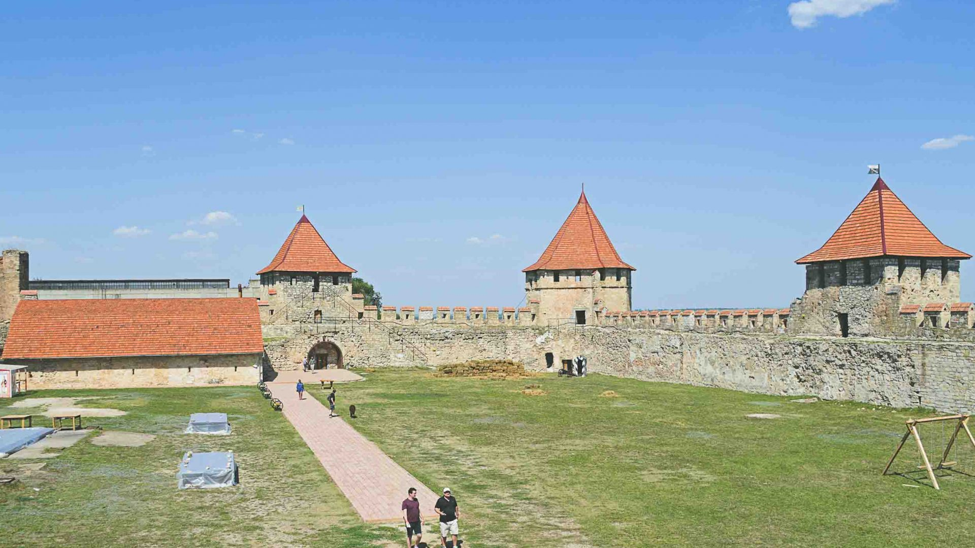 Bender Fortress is one of Transnistria's only tourist attractions.