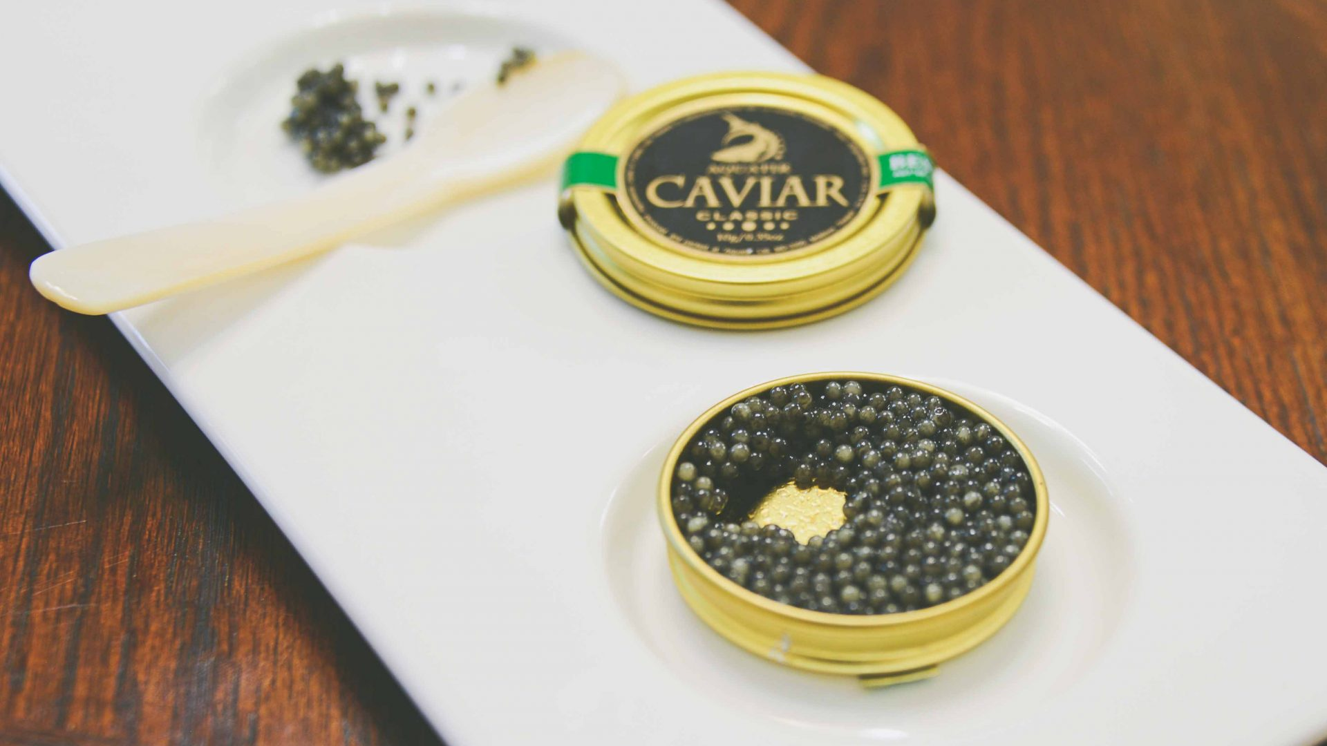 Caviar is an important export in Transnistria.