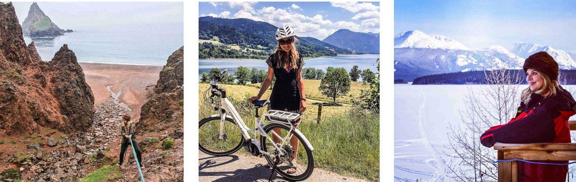 Anna Hart on a range of adventures.