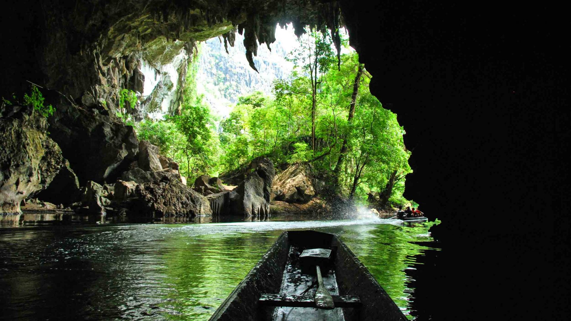 Inside Kong Lor Cave, Laos' real-life 'Space Mountain'