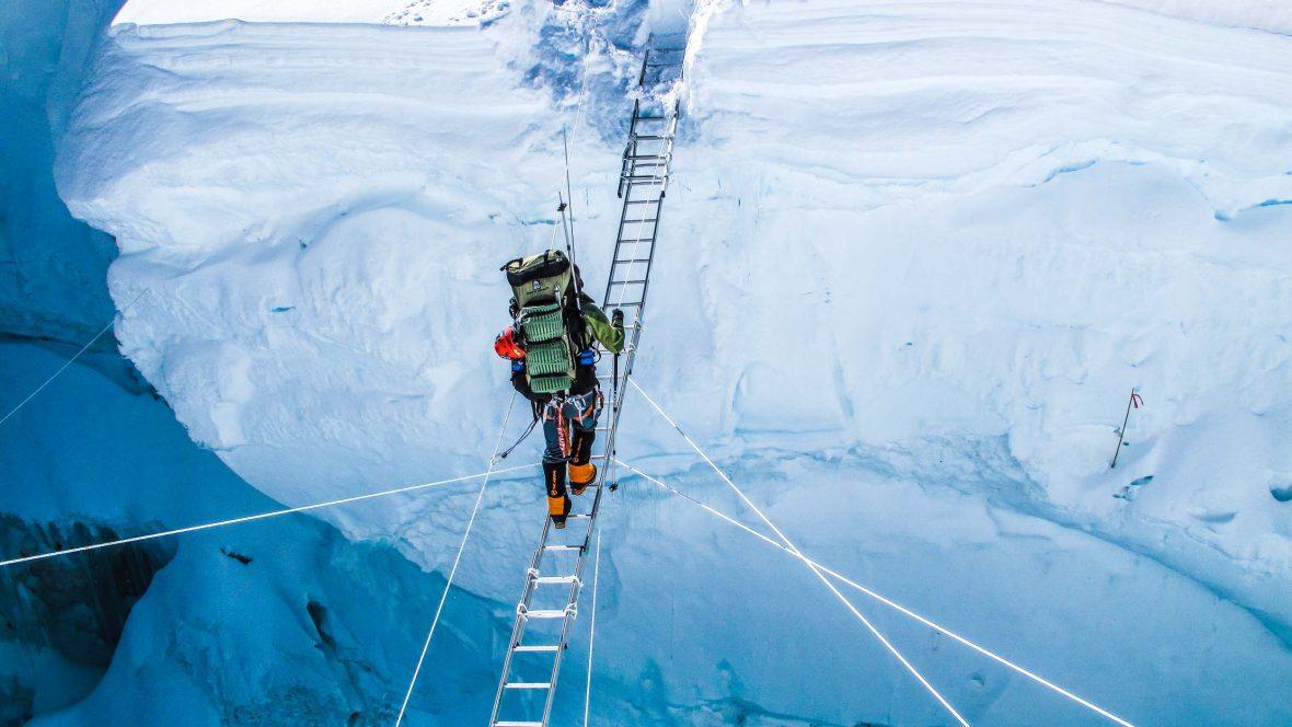 The race to be last: Polar explorer Eric Larsen battles climate change