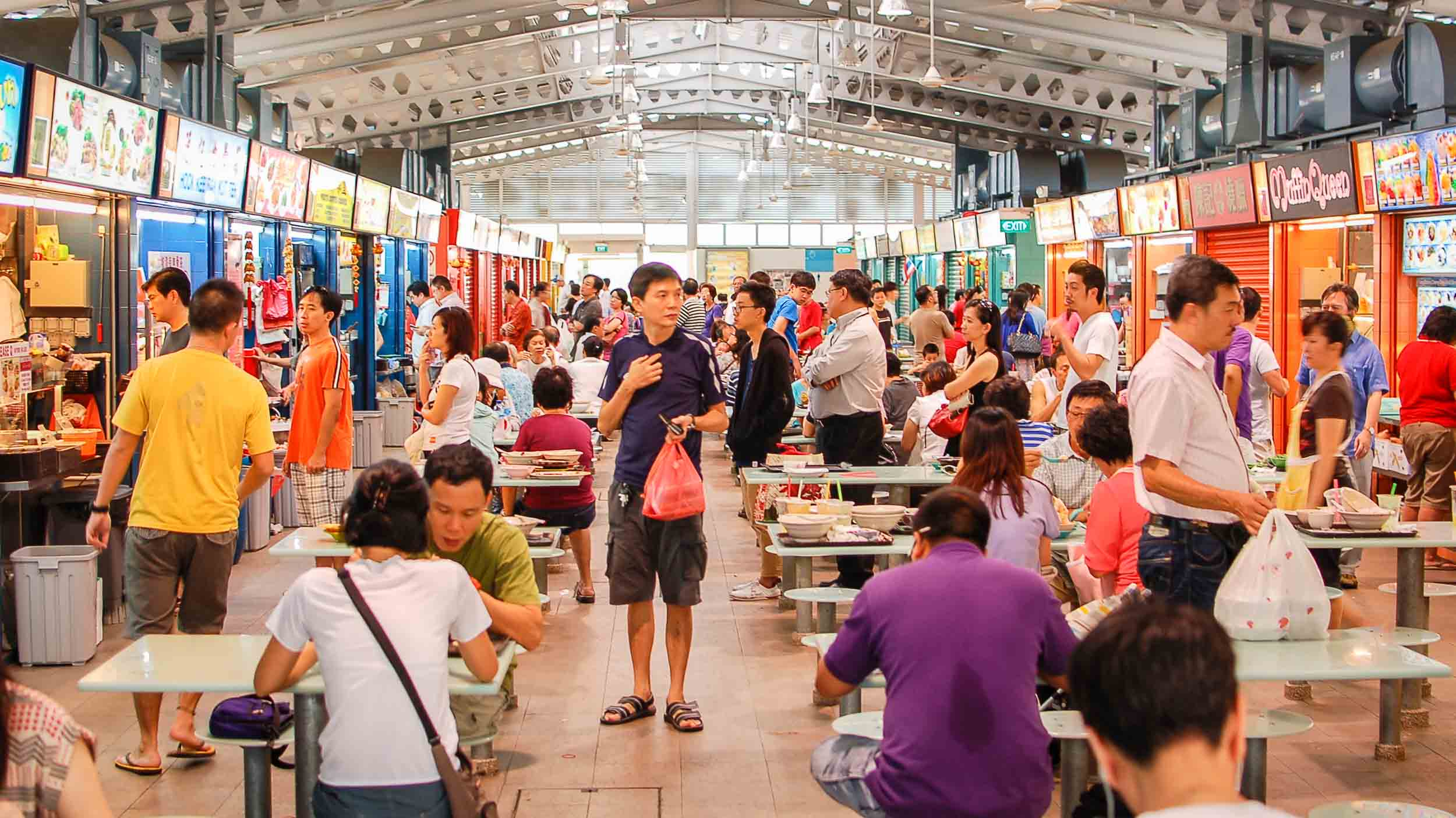Singapore fling: A guide to the city's best hawker food ...