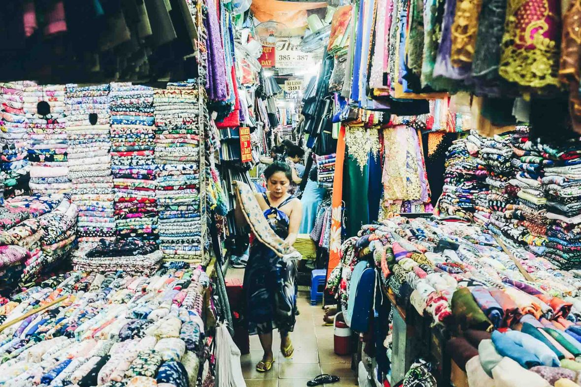 In Nepal and parts of Southeast Asia, it's considered good luck to make a sale as quickly as possible after the stall opens.