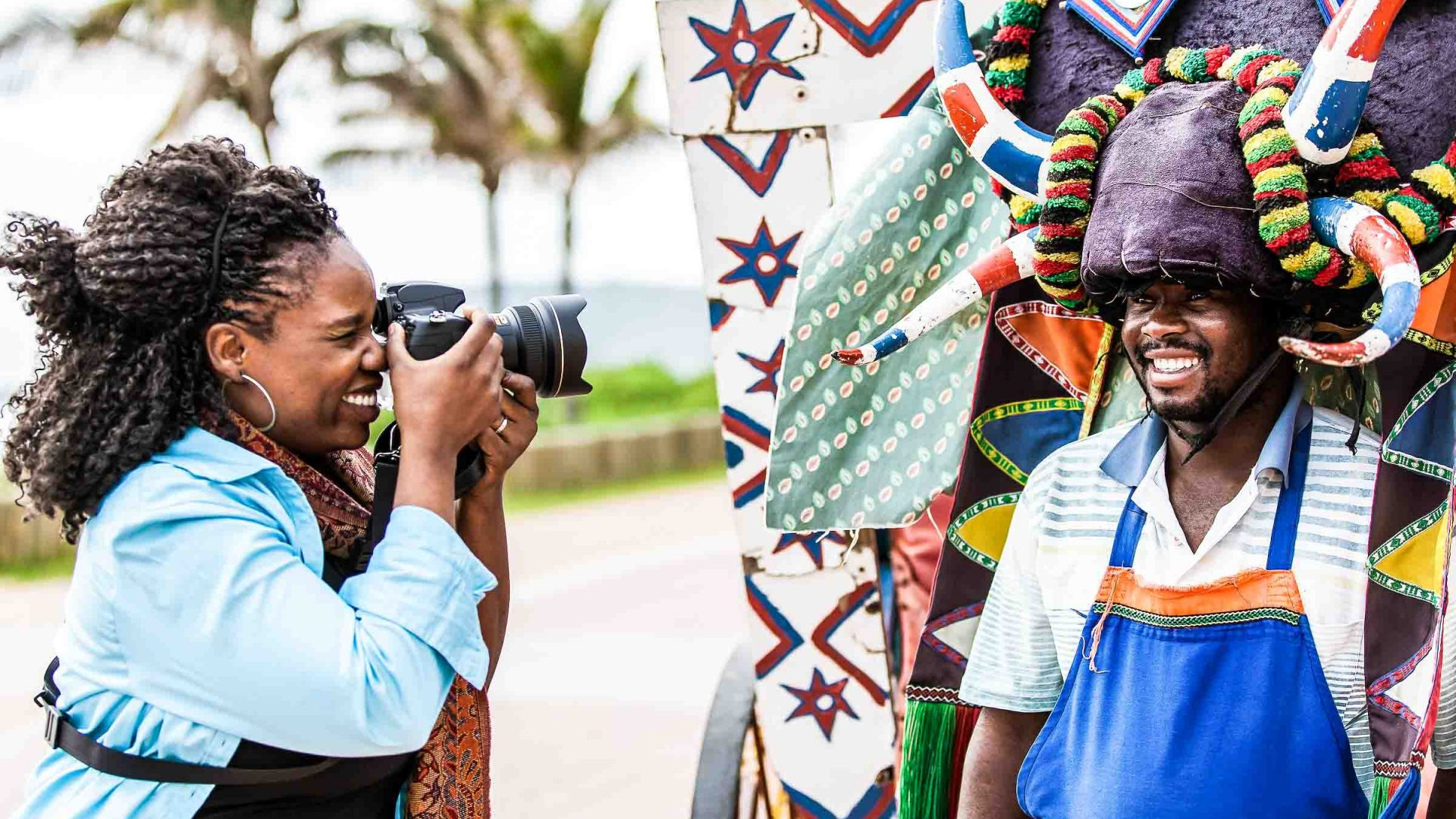 Lola Akinmade Åkerström on assignment in South Africa in partnership with National Geographic Channel.