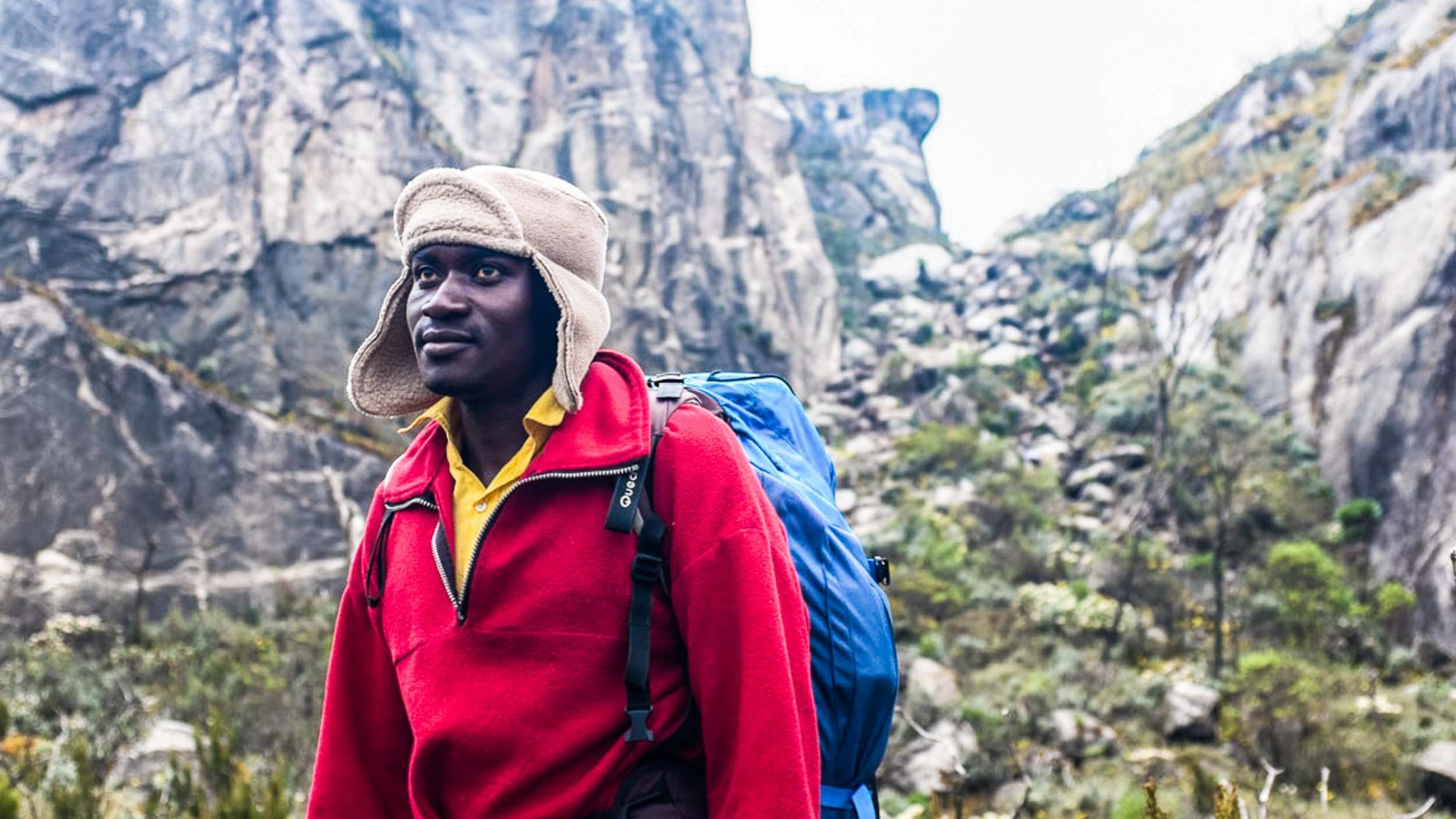 Guides Abel and Rasto made the hike in Rwenzori mountains seem easy.