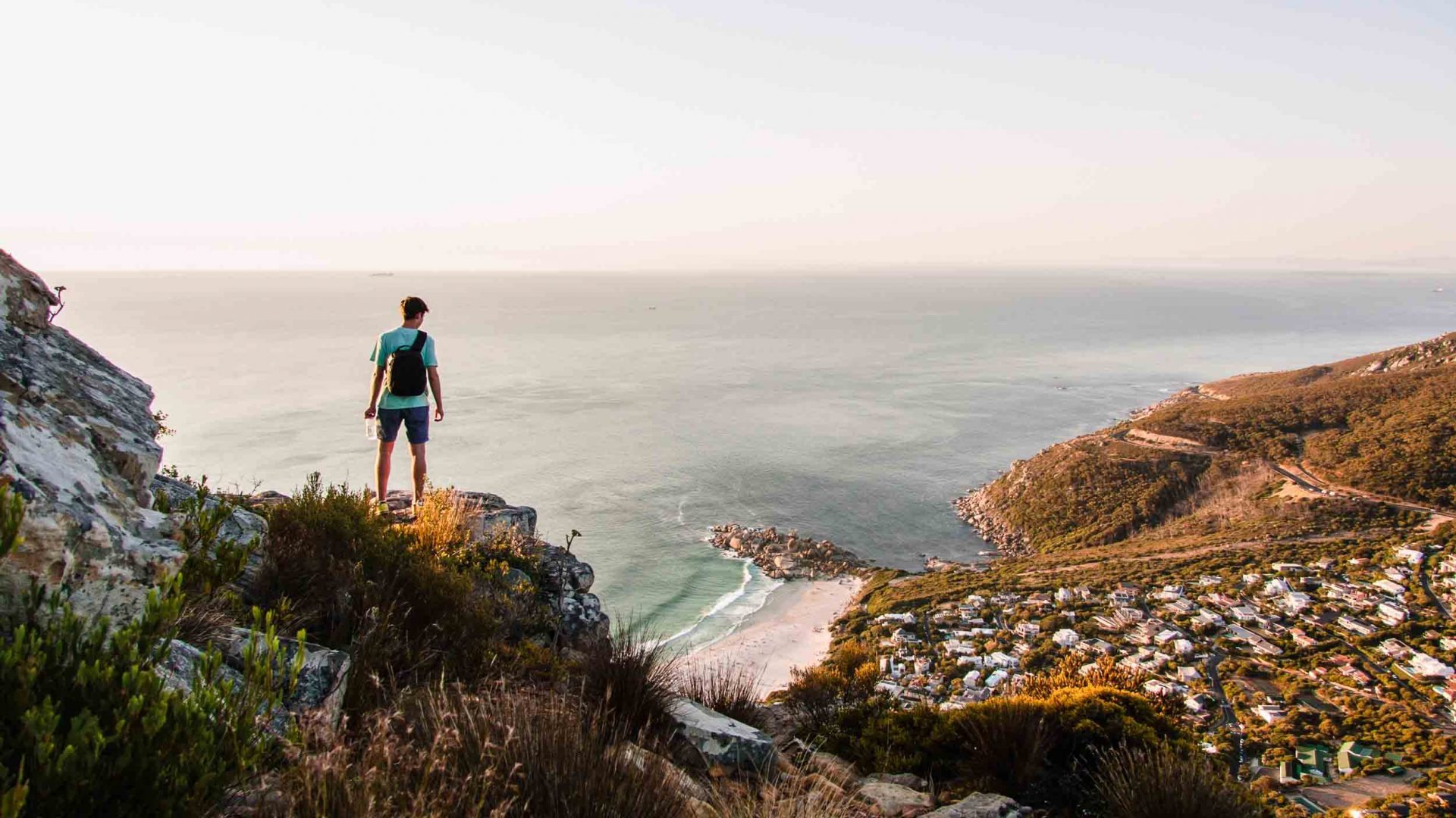 Hiking over Llandudno, Cape Town, South Africa.