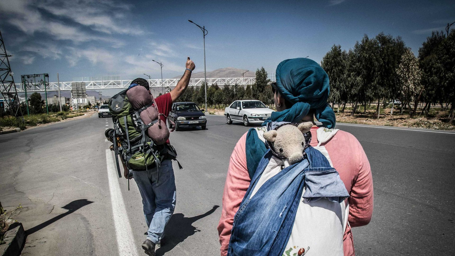 Meet the defiant young Iranians hitchhiking and couchsurfing their way to freedom