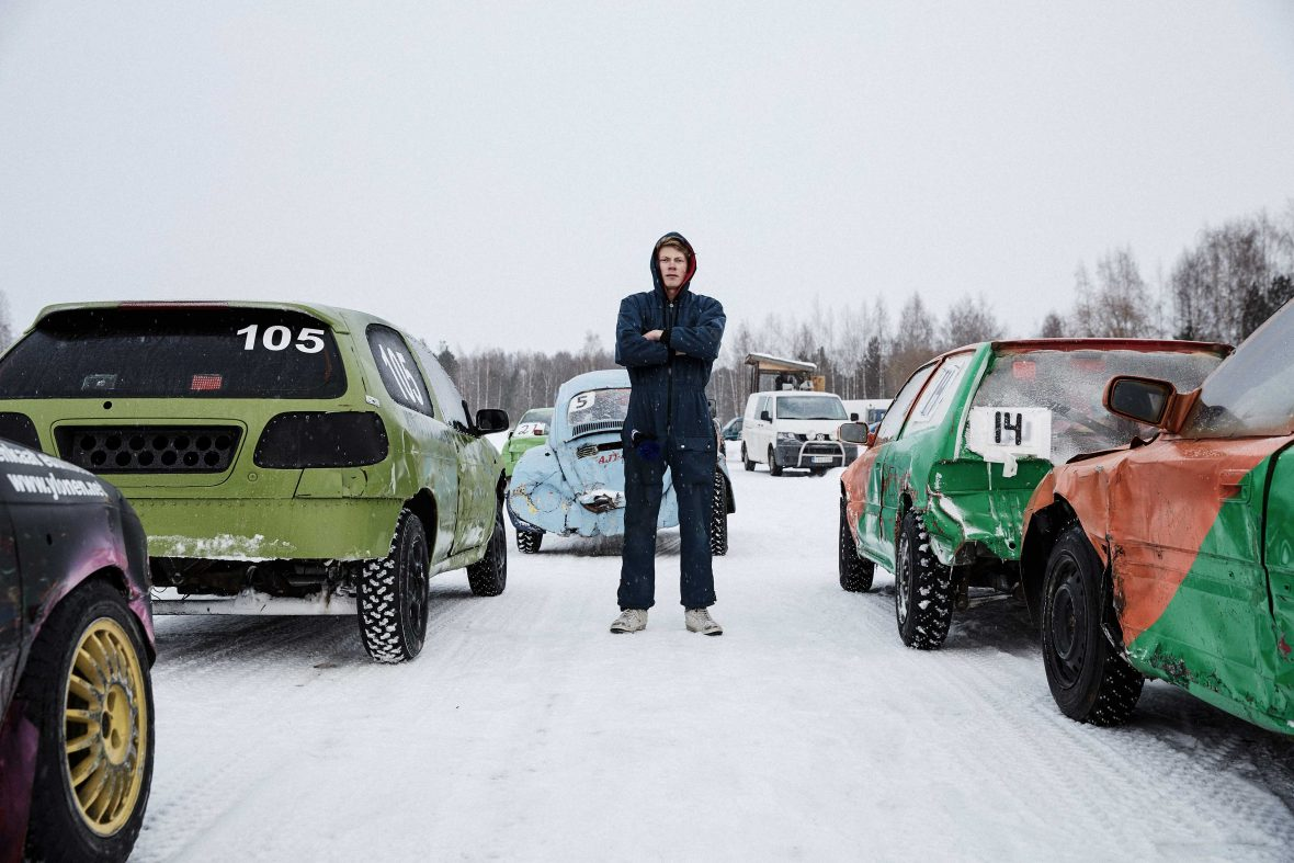 In Finland, there's a death-defying DIY ice rally for the whole family