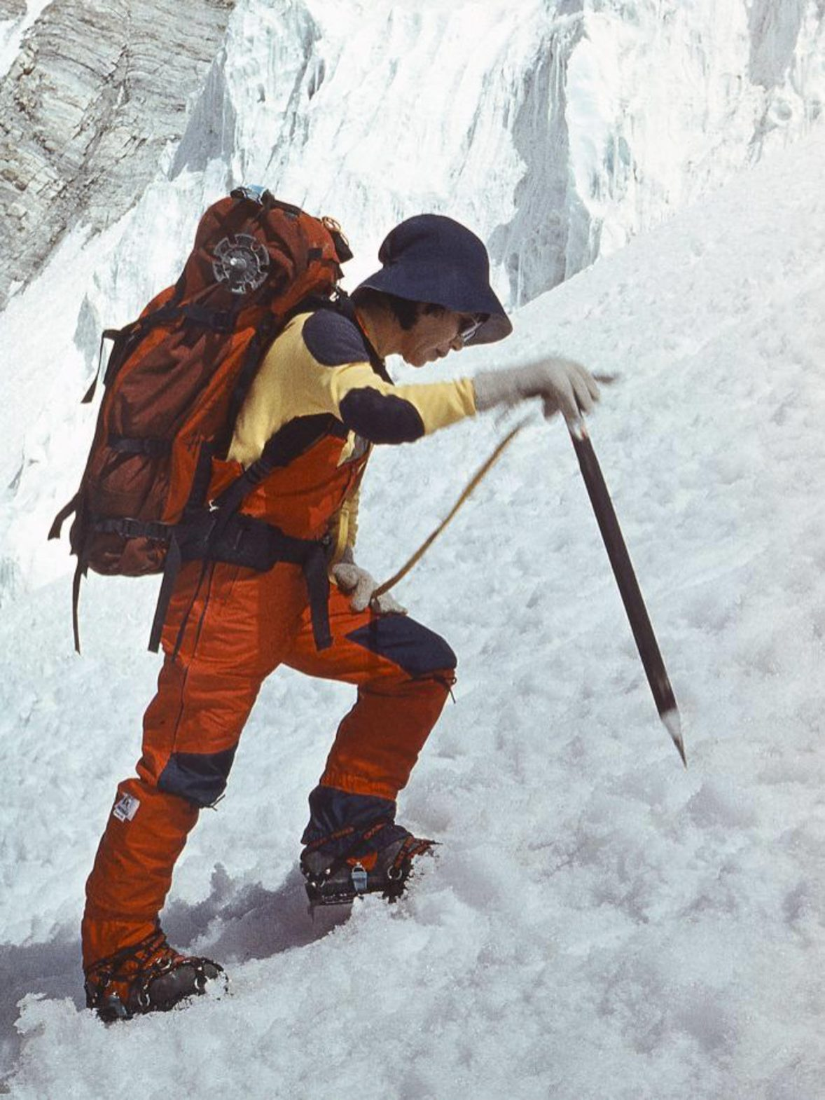 Japanese mountaineer Junko Tabei was the first woman to reach the peak of Everest.