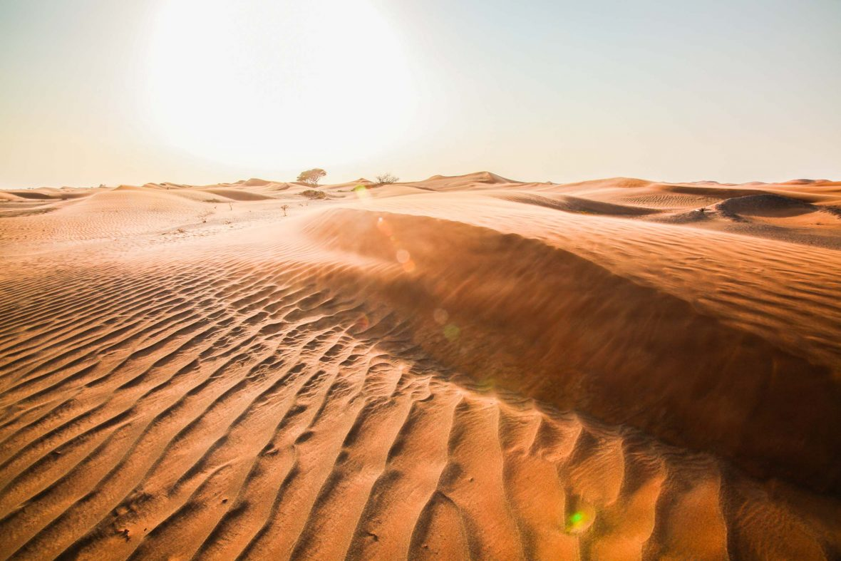 The Rub 'al Khali or Empty Quarter is the world's largest sand desert, and takes up most of the southern third of the Arabian Peninsula.