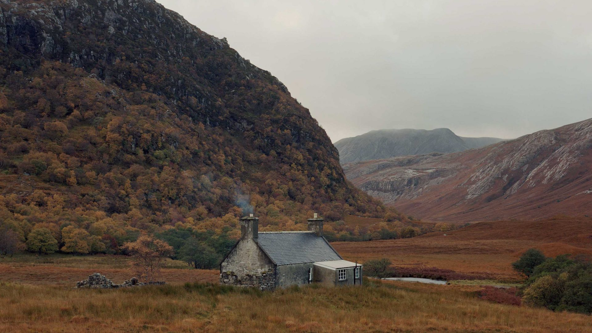 A bothy in Strabeg, Northern Highlands, Scotland.